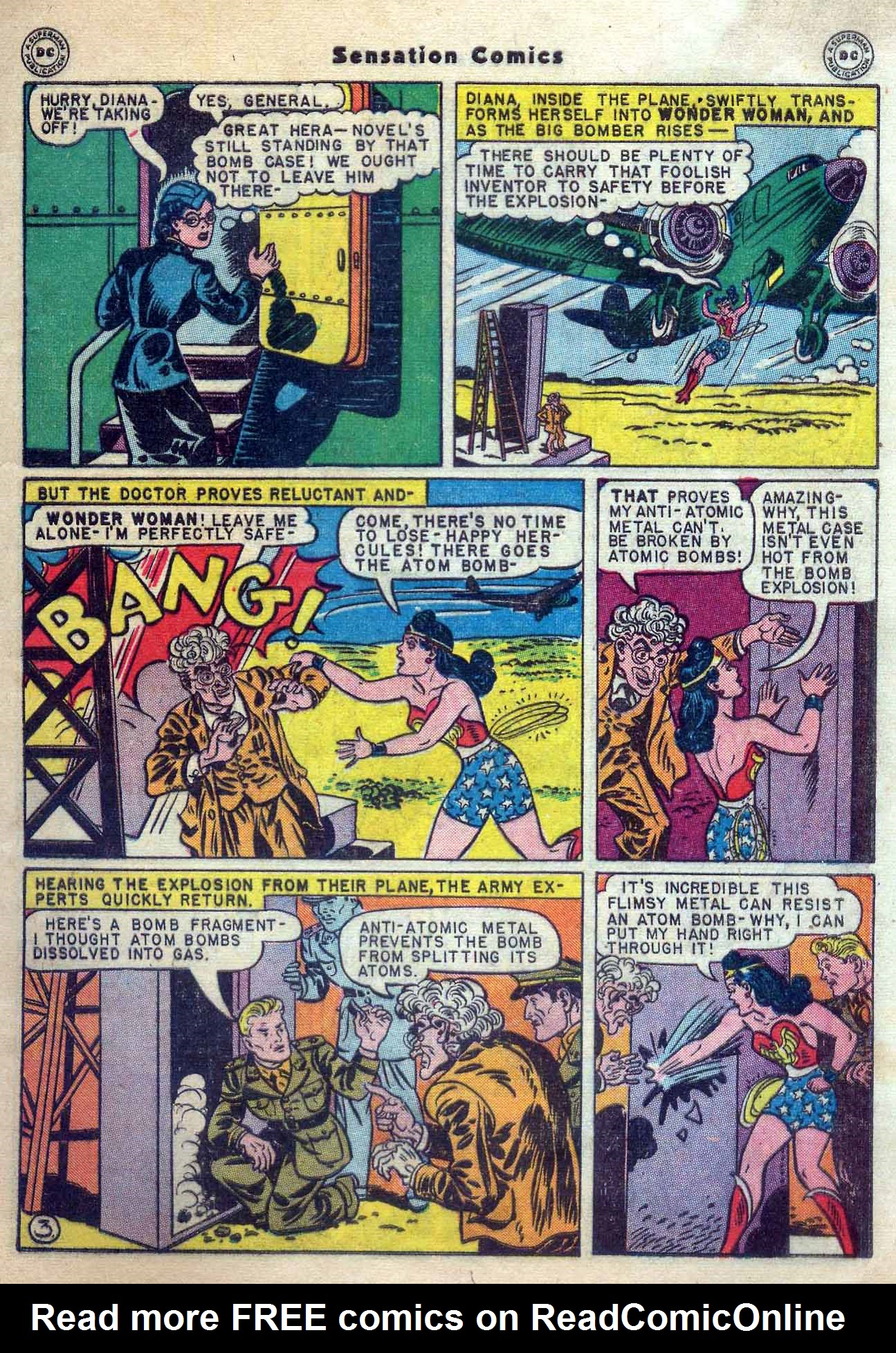 Read online Sensation (Mystery) Comics comic -  Issue #56 - 5