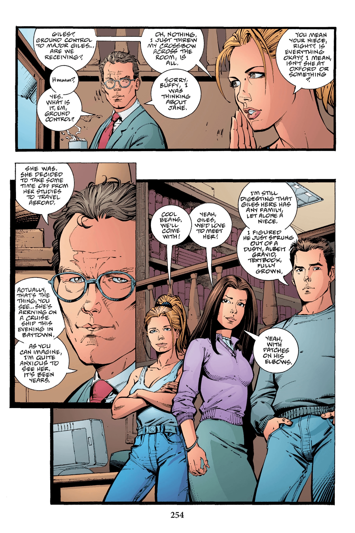 Read online Buffy the Vampire Slayer: Omnibus comic -  Issue # TPB 2 - 246