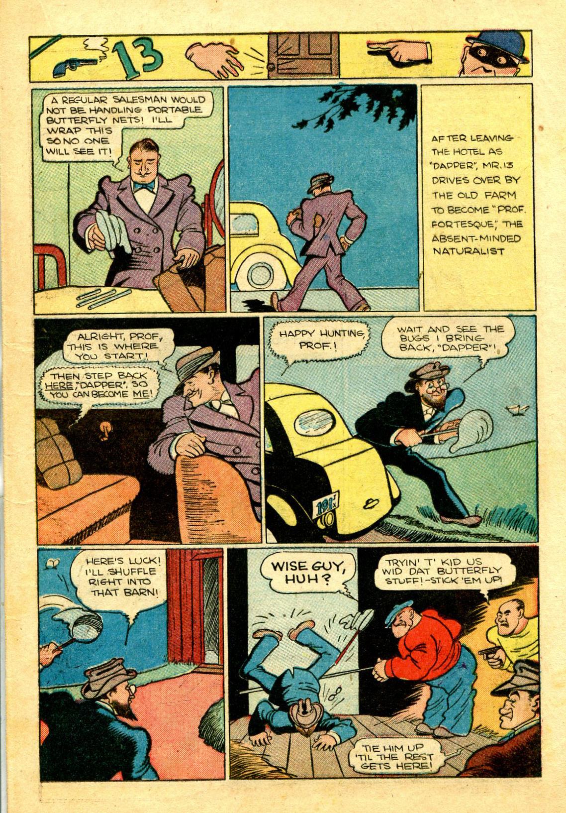 Read online Shadow Comics comic -  Issue #43 - 25