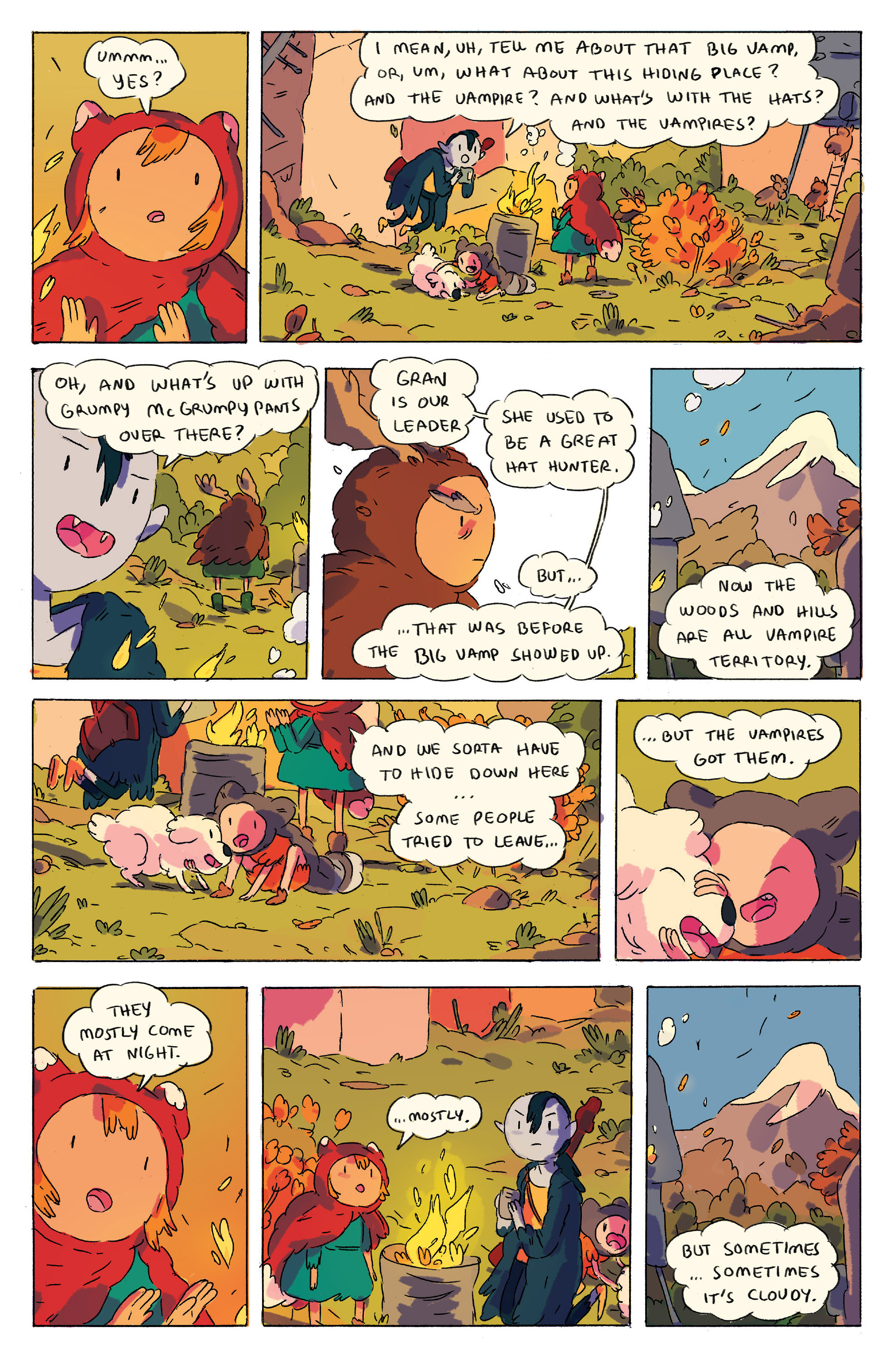 Read online Adventure Time comic -  Issue # _2015 Spoooktacular - 13