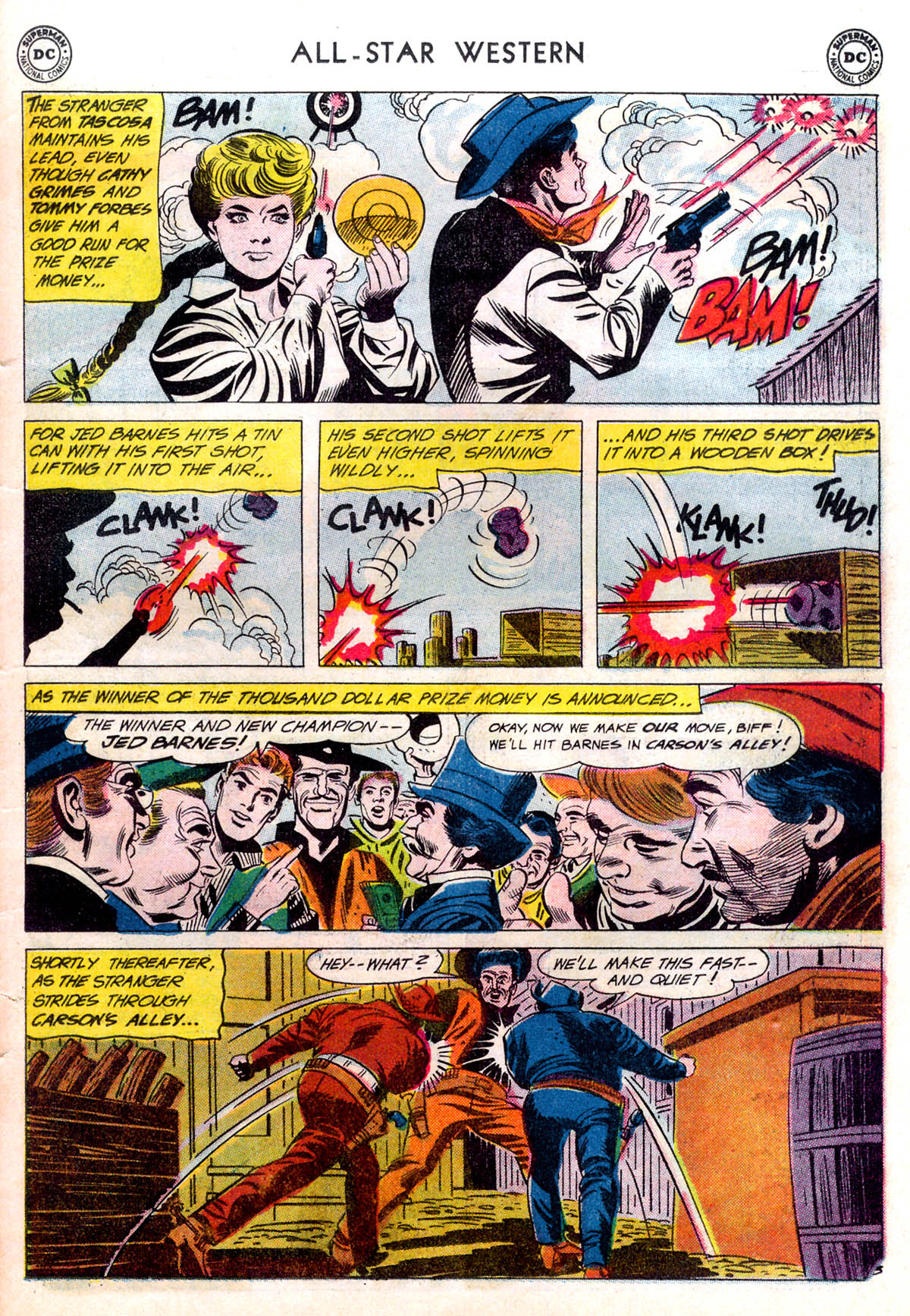 Read online All-Star Western (1951) comic -  Issue #116 - 27
