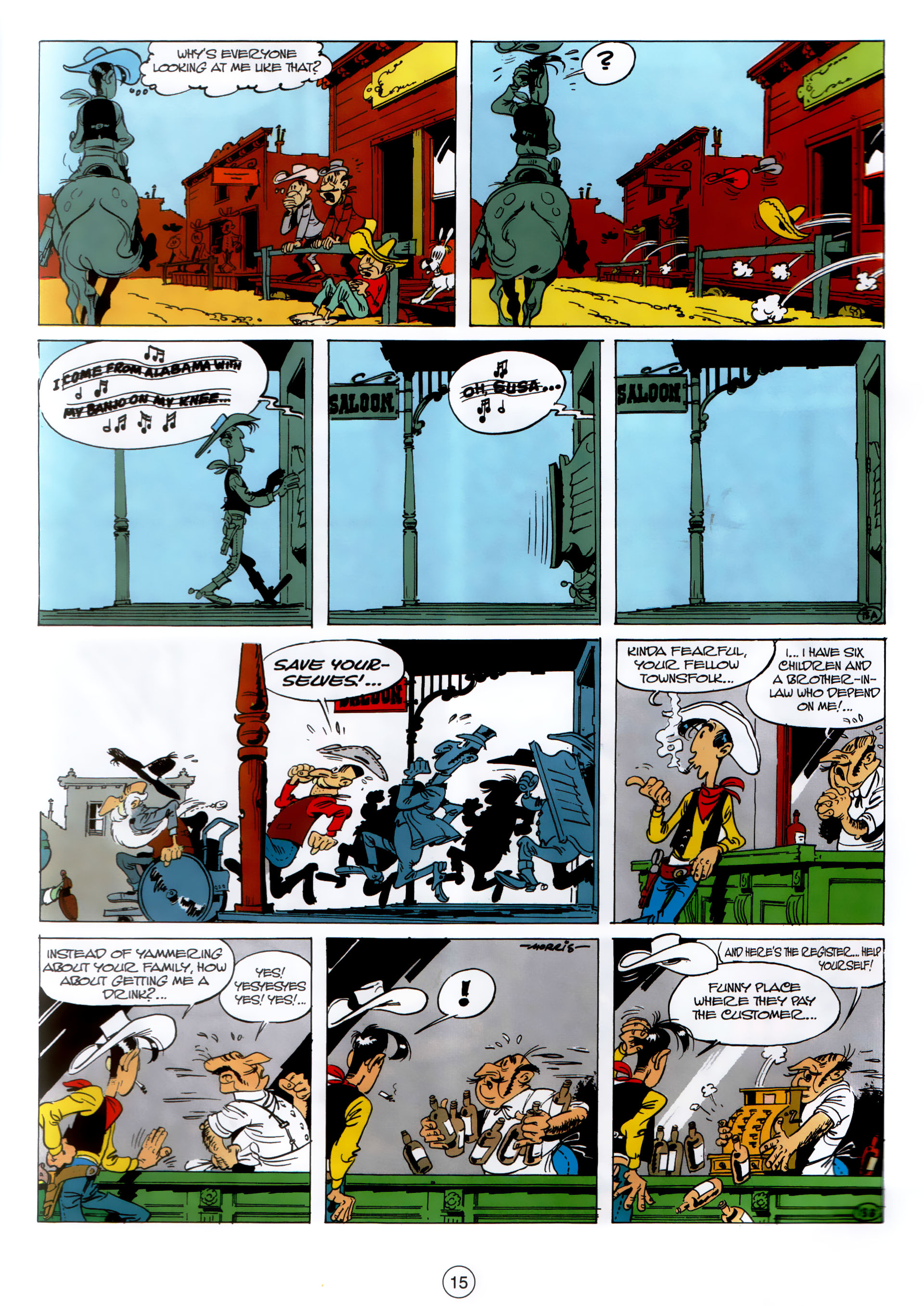 Read online A Lucky Luke Adventure comic -  Issue #30 - 14