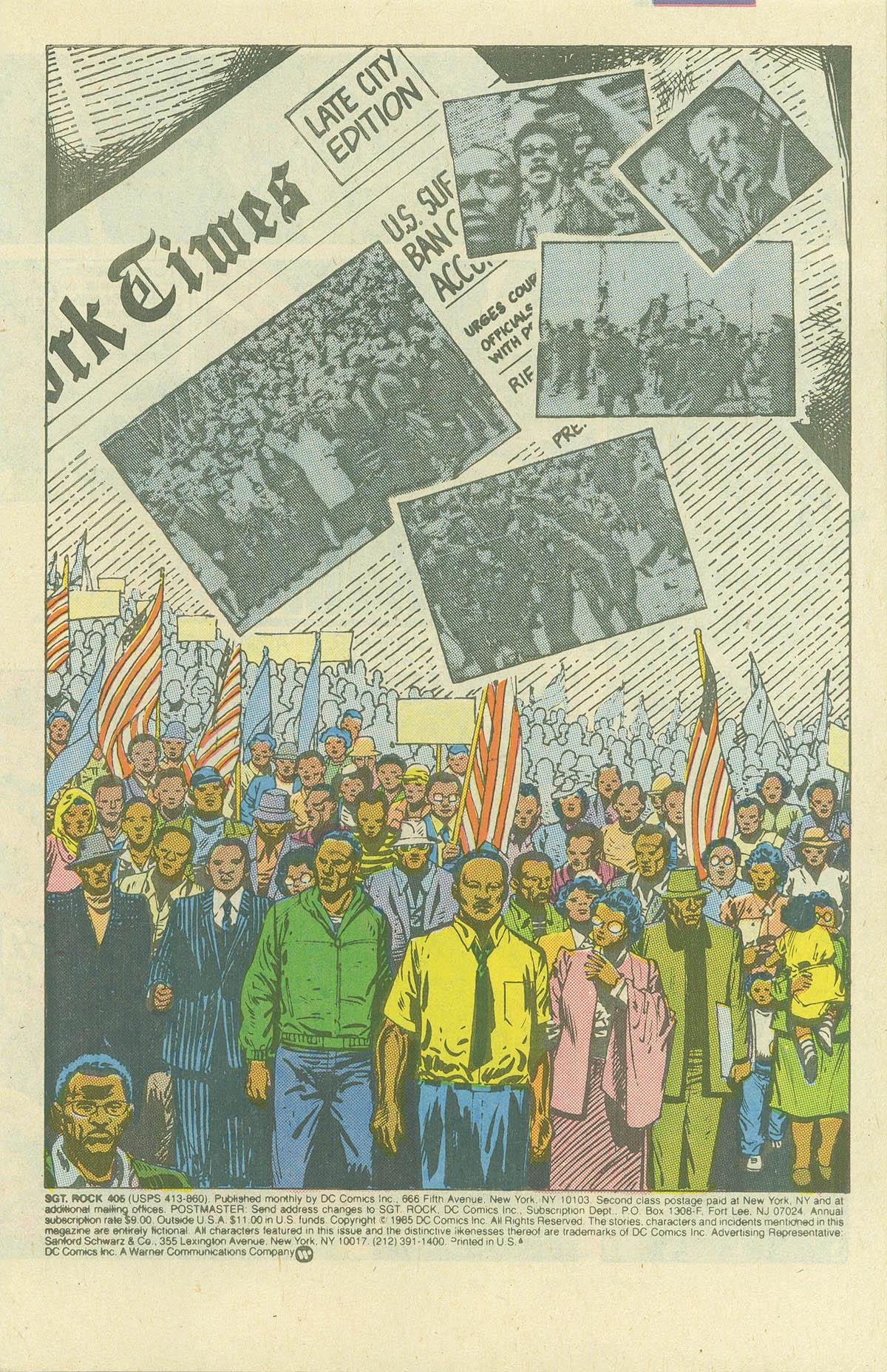 Read online Sgt. Rock comic -  Issue #405 - 3