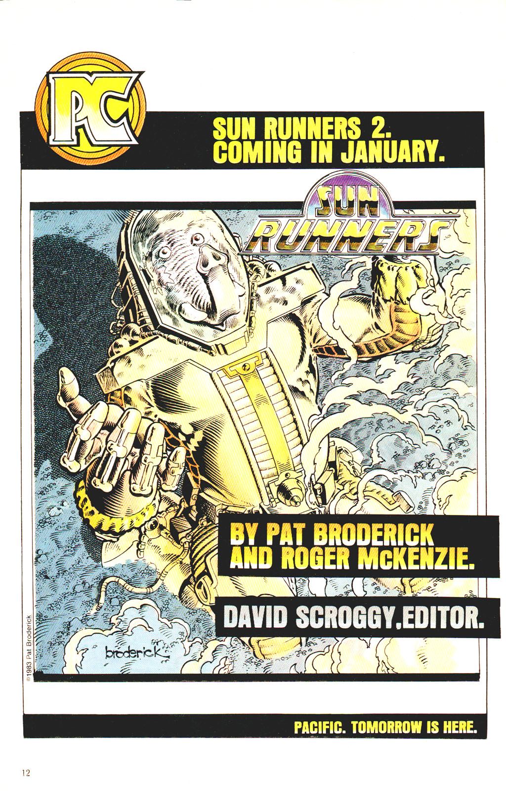 Read online Twisted Tales (1982) comic -  Issue #7 - 14