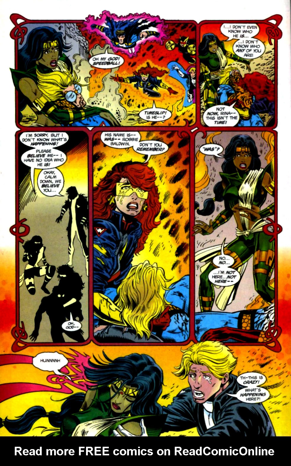 The New Warriors Issue #69 #73 - English 21