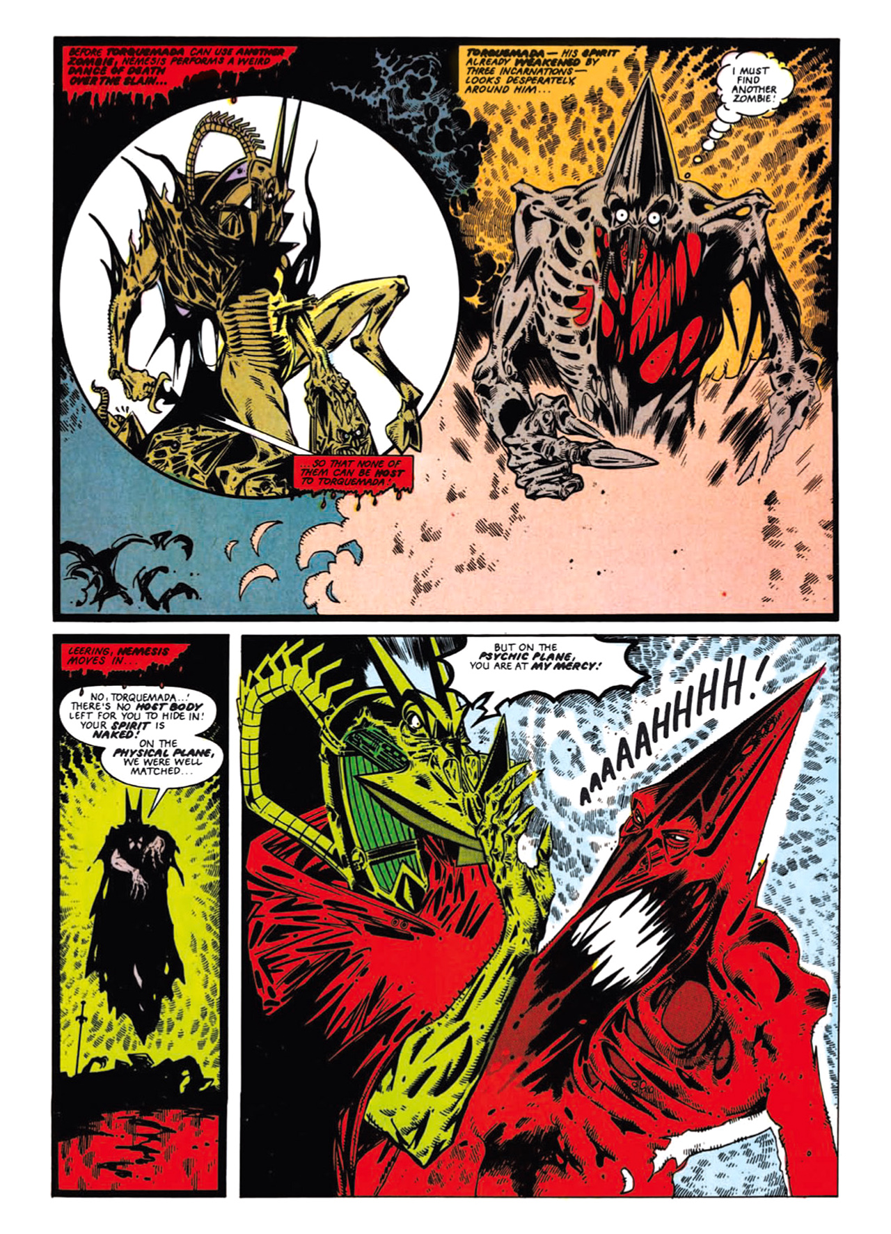 Read online Nemesis The Warlock comic -  Issue # TPB Deviant Edition - 86
