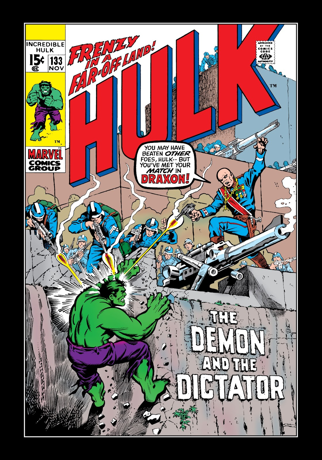 Read online Marvel Masterworks: The Incredible Hulk comic -  Issue # TPB 6 (Part 3) - 34