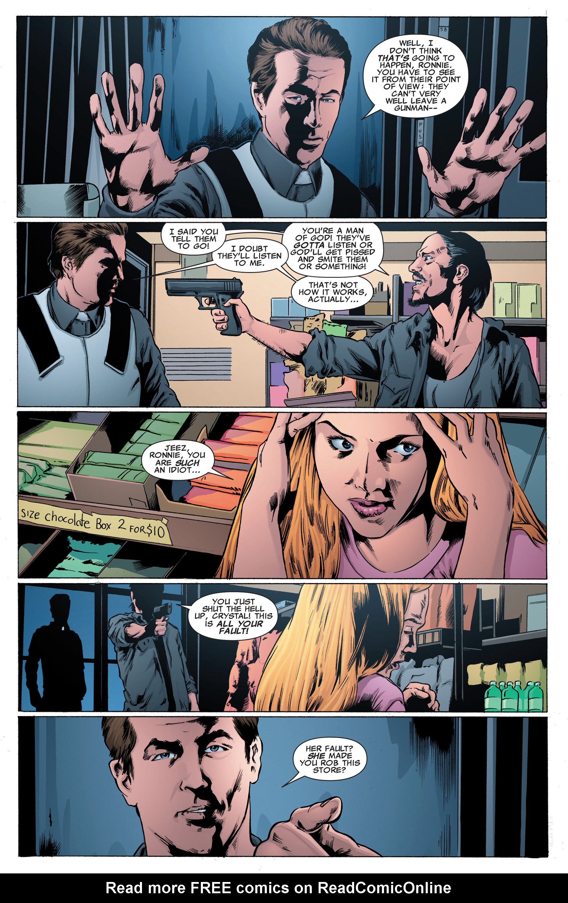 Read online X-Factor (2006) comic -  Issue #40 - 6