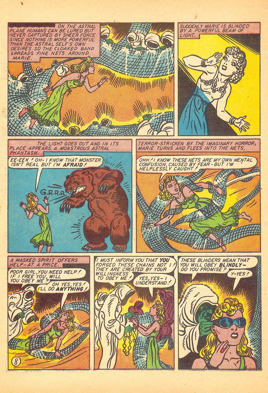 Read online Sensation (Mystery) Comics comic -  Issue #25 - 10
