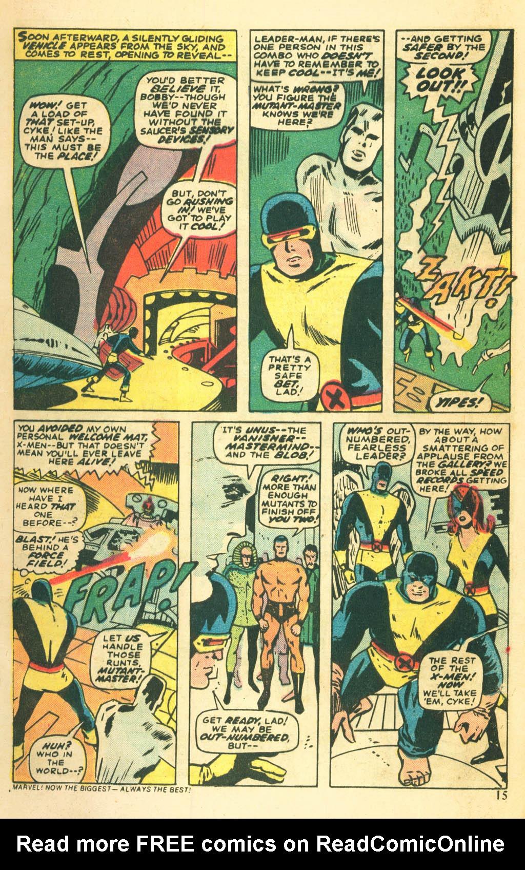 Read online Uncanny X-Men (1963) comic -  Issue #87 - 17