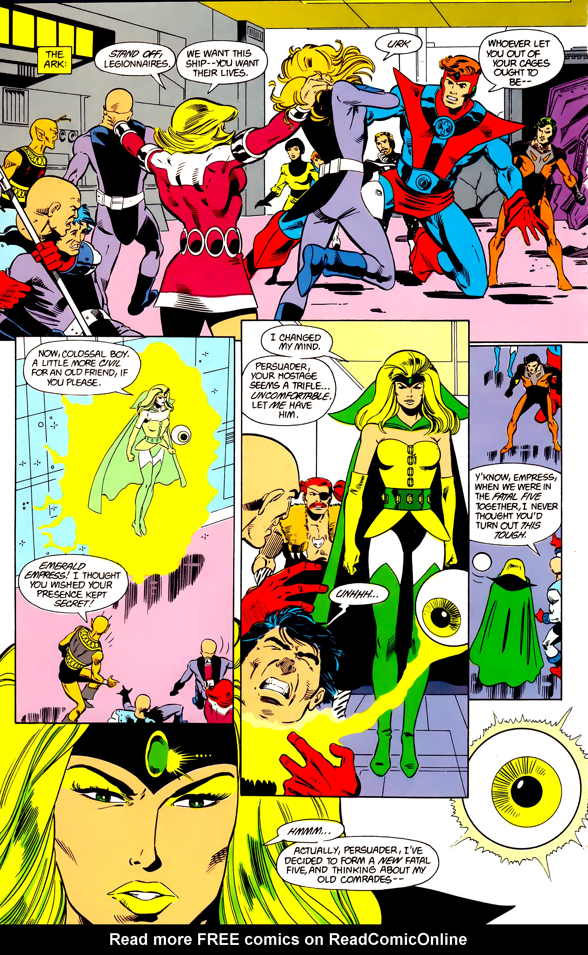 Legion of Super-Heroes (1984) 21 Page 11