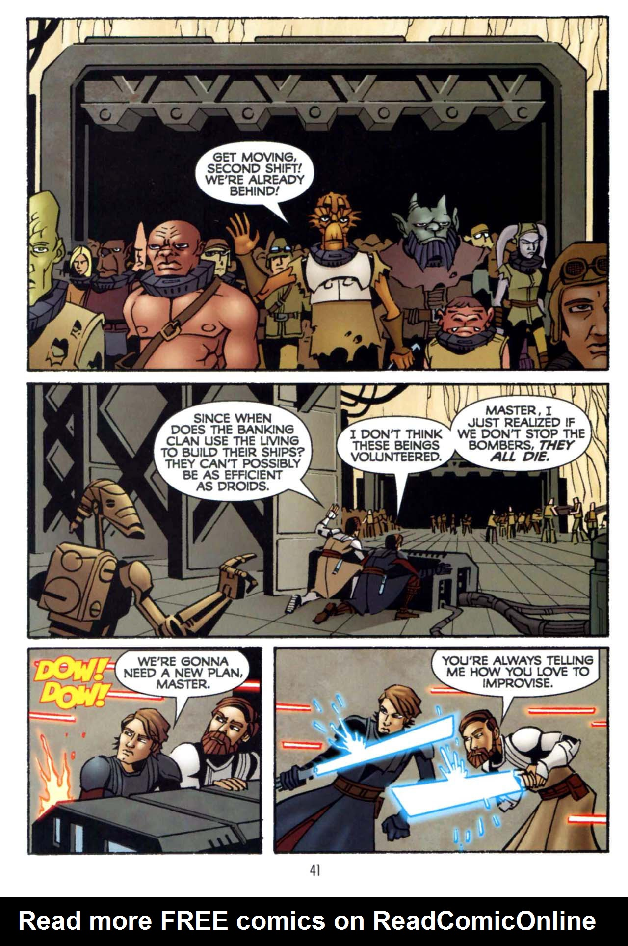 Read online Star Wars: The Clone Wars - Shipyards of Doom comic -  Issue # Full - 39