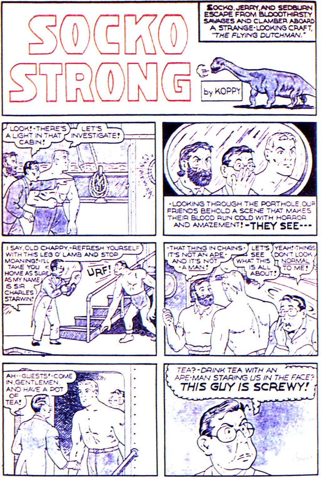 Read online Adventure Comics (1938) comic -  Issue #42 - 28