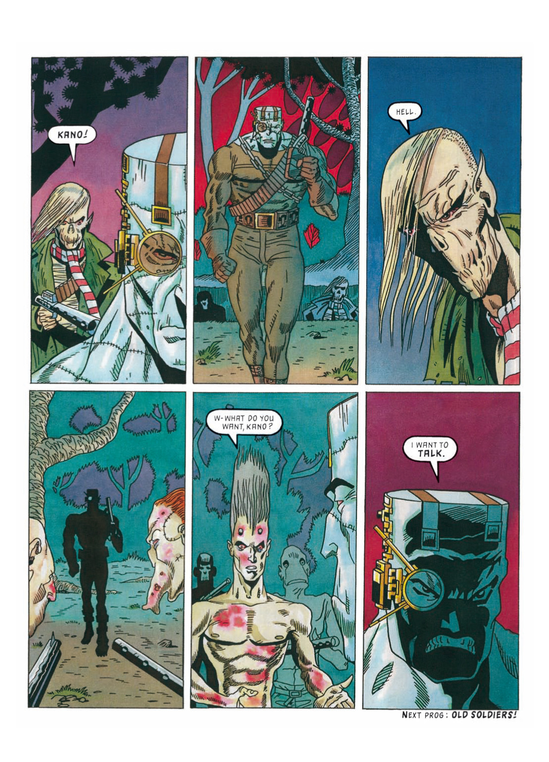 Read online The Complete Bad Company comic -  Issue # TPB - 310
