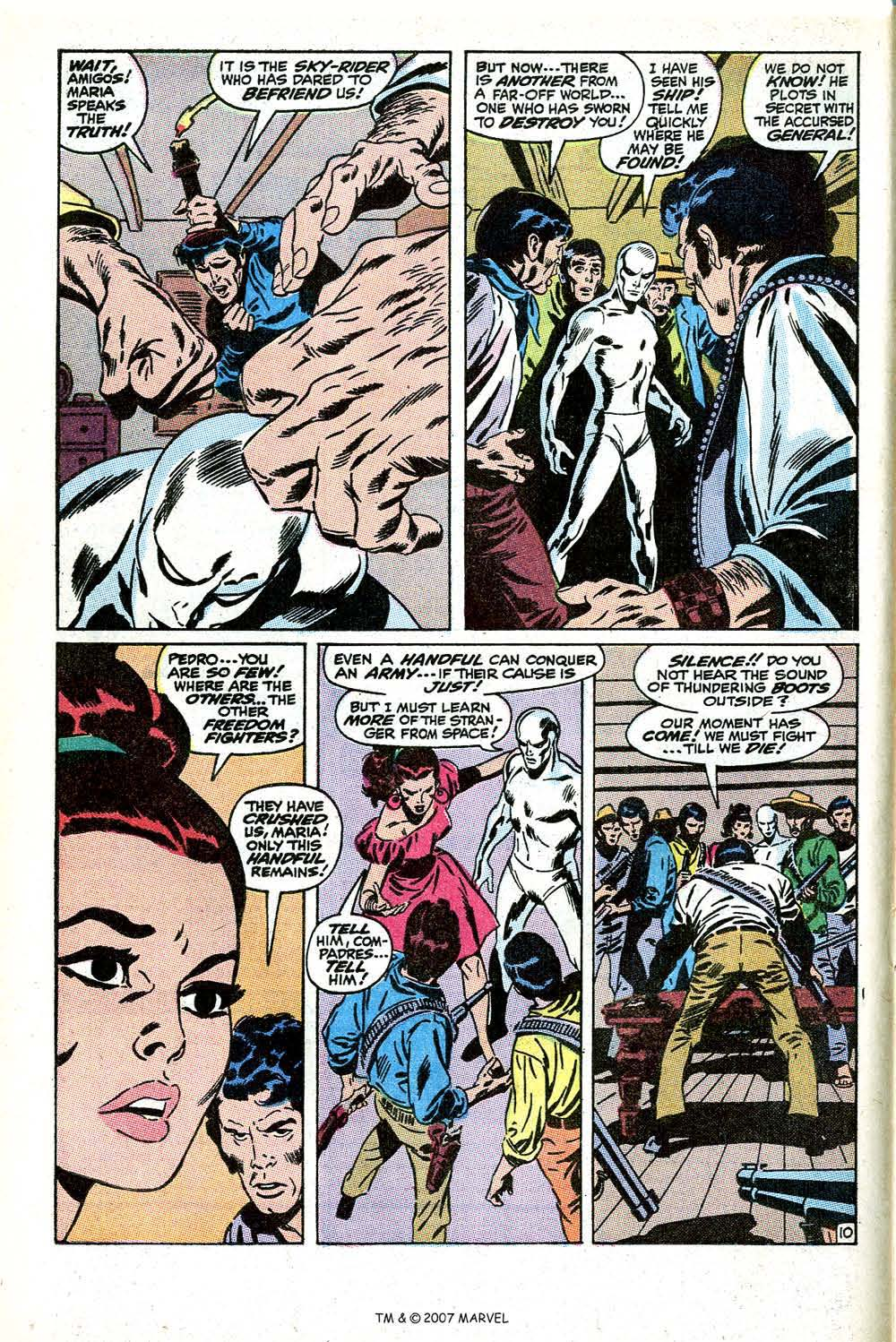 Read online Silver Surfer (1968) comic -  Issue #11 - 16