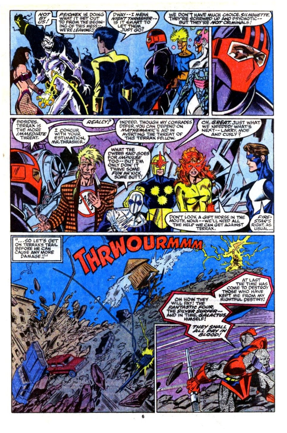 The New Warriors Issue #16 #20 - English 6