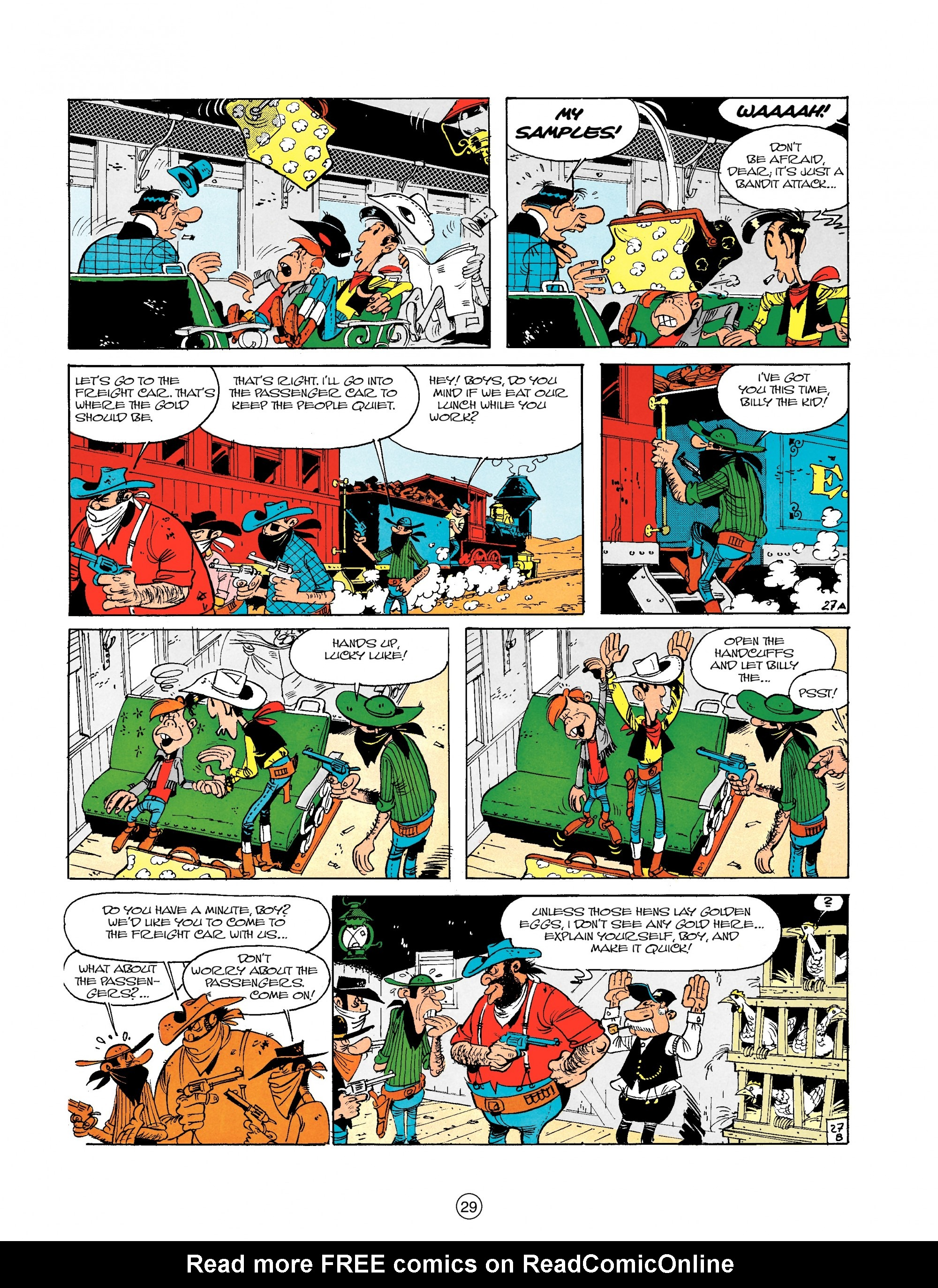 Read online A Lucky Luke Adventure comic -  Issue #18 - 29