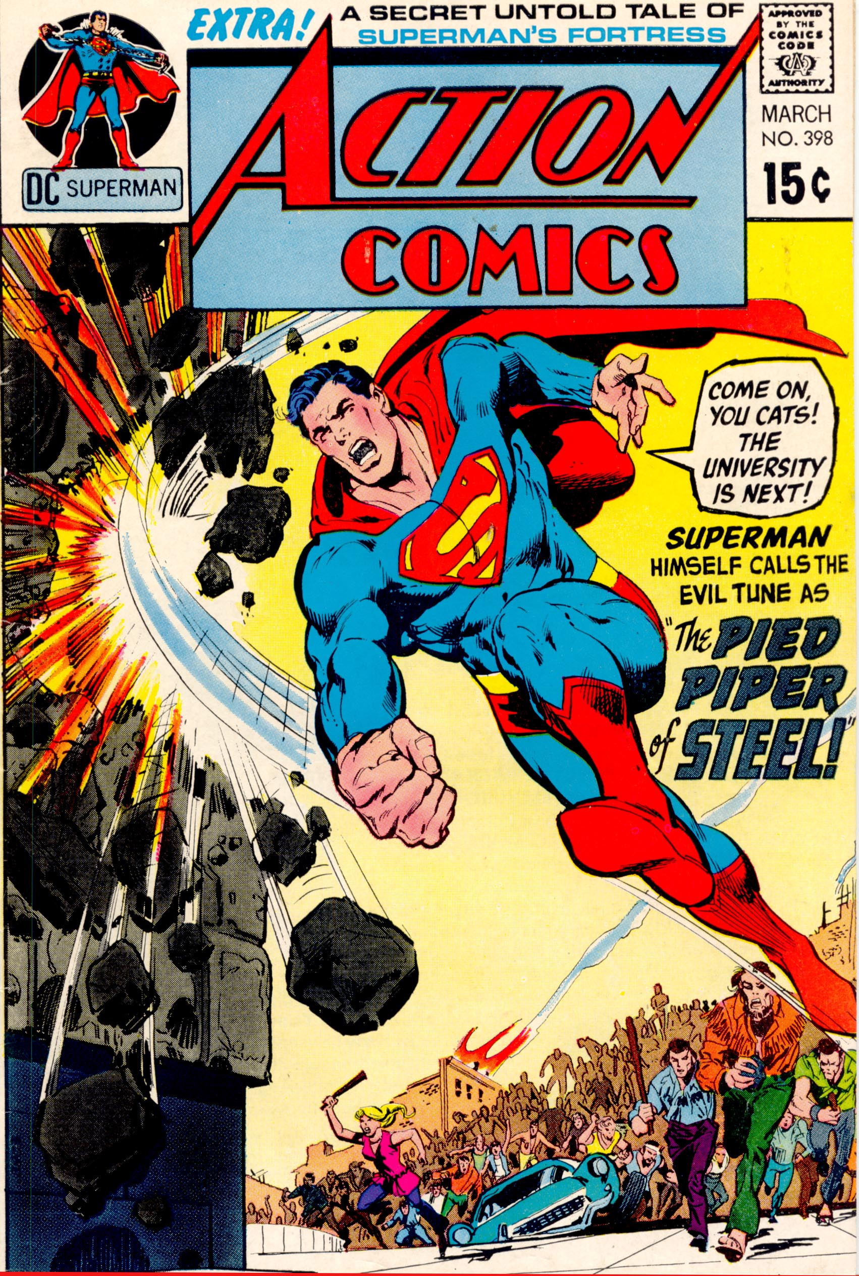 Read online Action Comics (1938) comic -  Issue #398 - 1