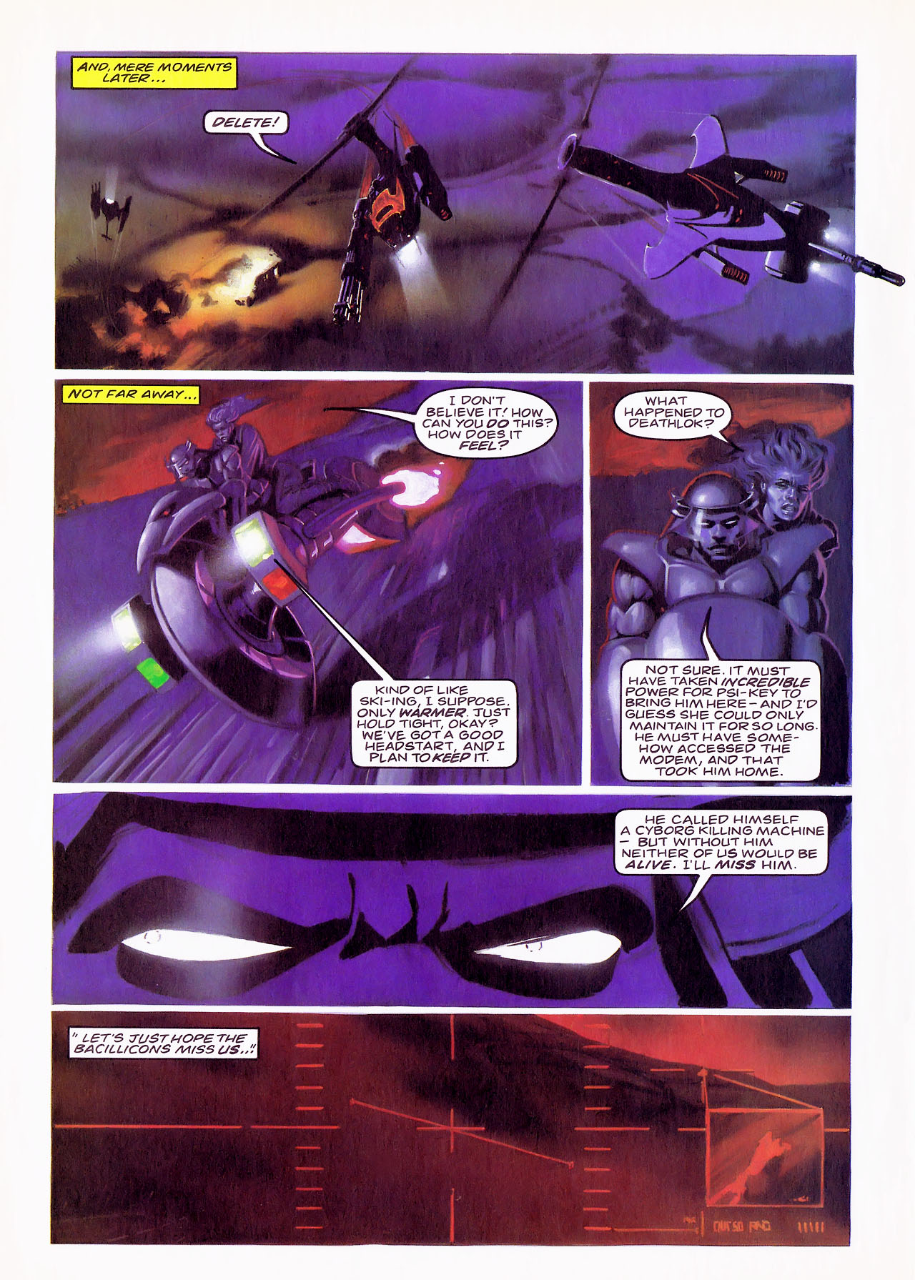 Read online Overkill comic -  Issue #17 - 21