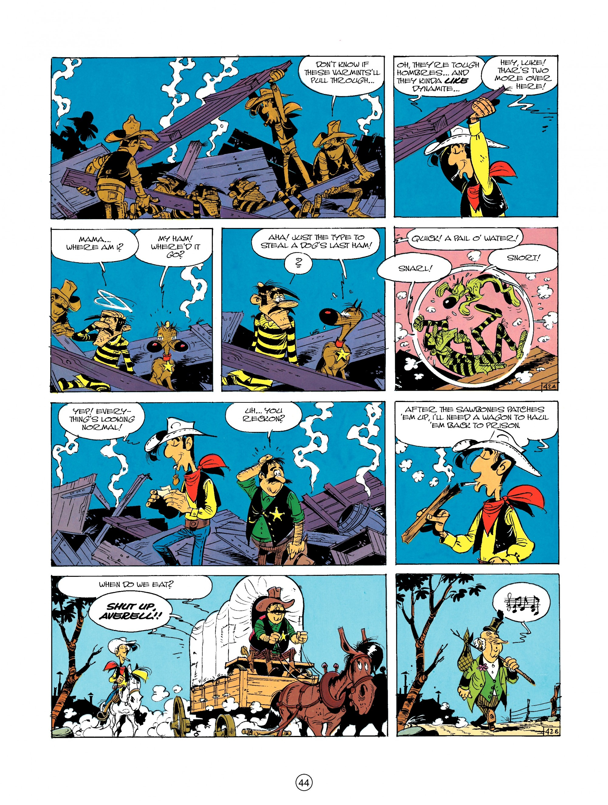 Read online A Lucky Luke Adventure comic -  Issue #23 - 44