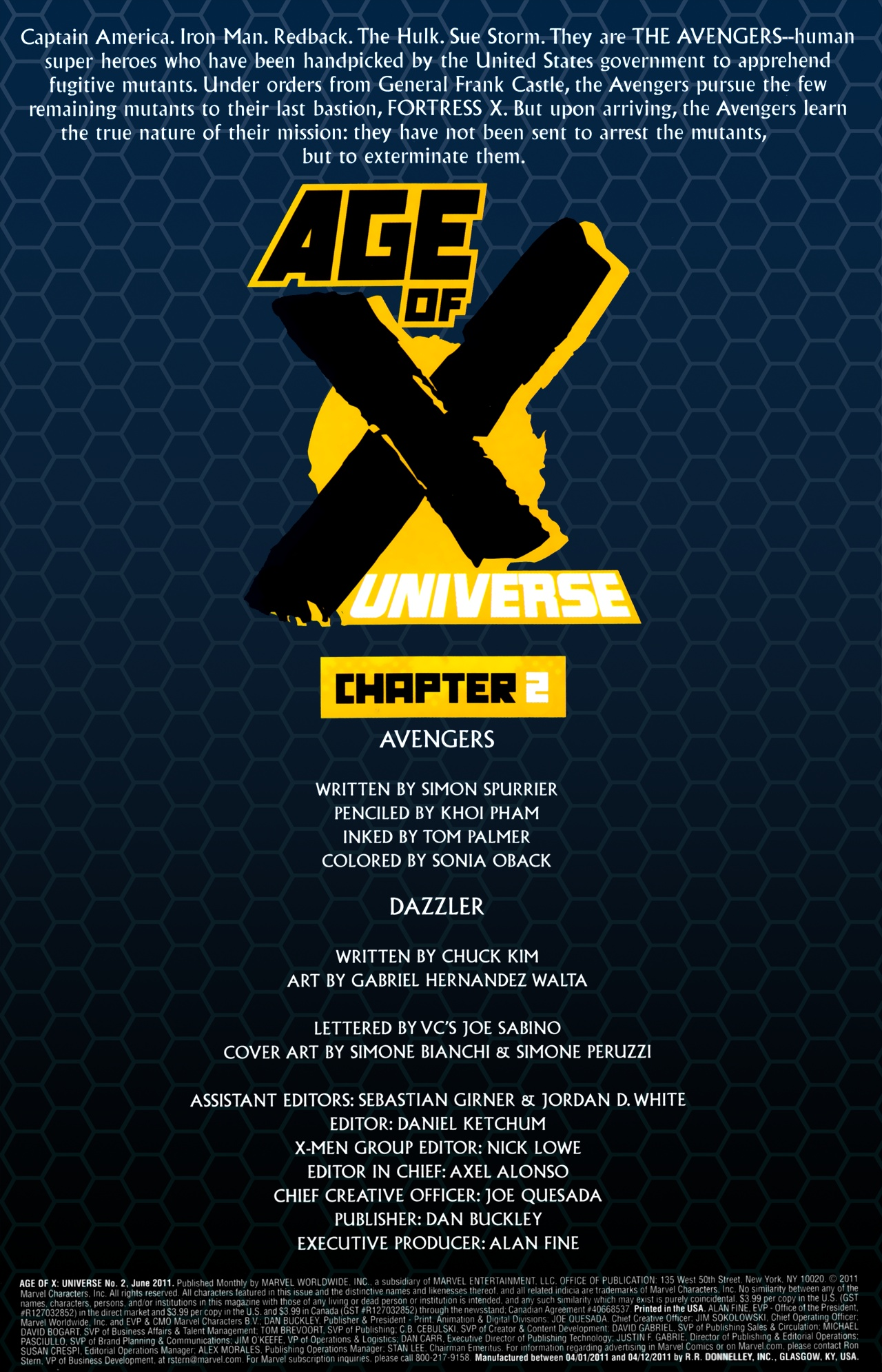 Read online Age of X: Universe comic -  Issue #2 - 2