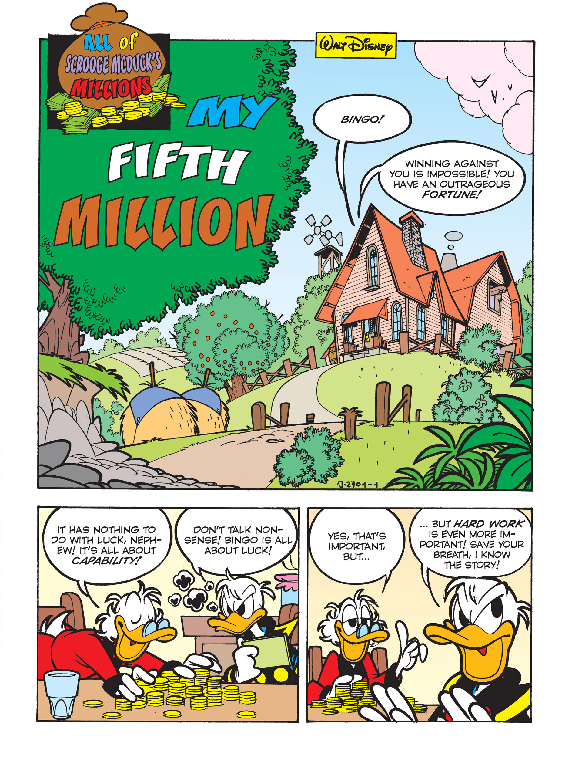 Read online All of Scrooge McDuck's Millions comic -  Issue #5 - 3