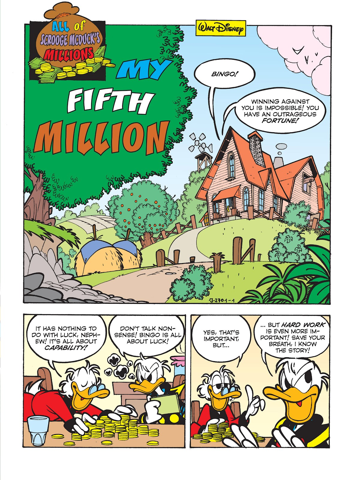 All of Scrooge McDuck's Millions Issue #5 #5 - English 3