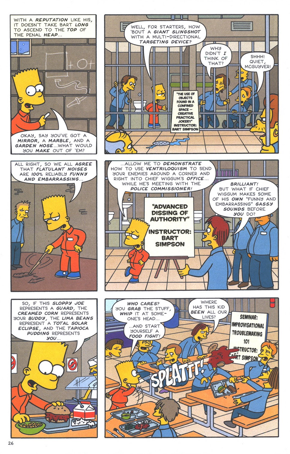 Read online The Simpsons Winter Wingding comic -  Issue #3 - 28