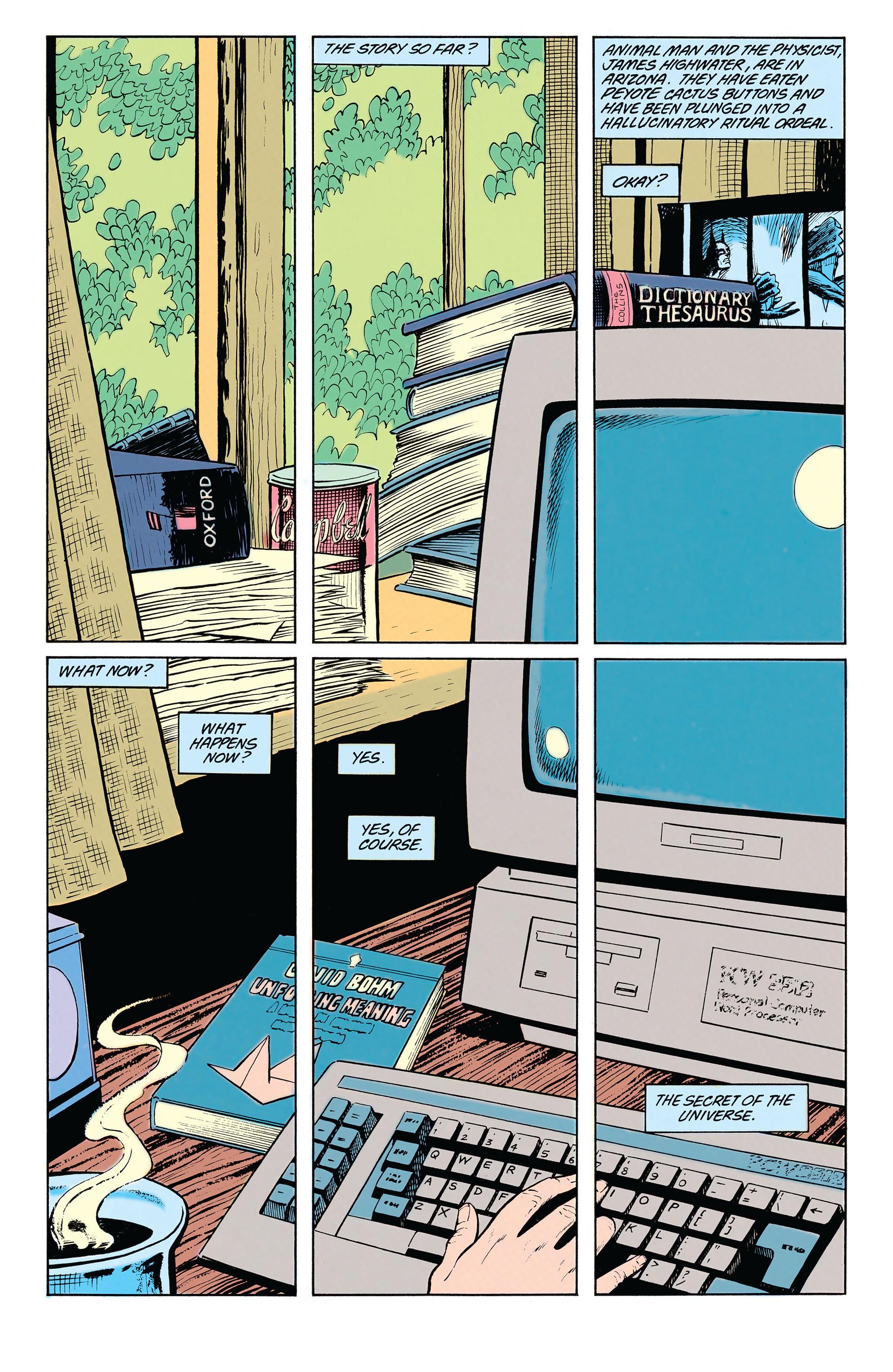 Read online Animal Man (1988) comic -  Issue #19 - 2