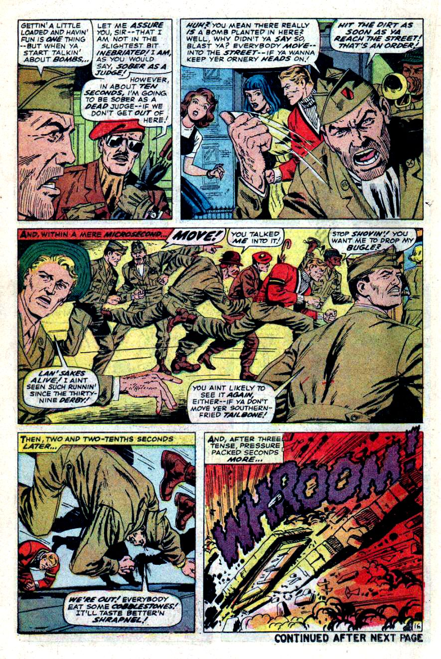Read online Sgt. Fury comic -  Issue #47 - 21