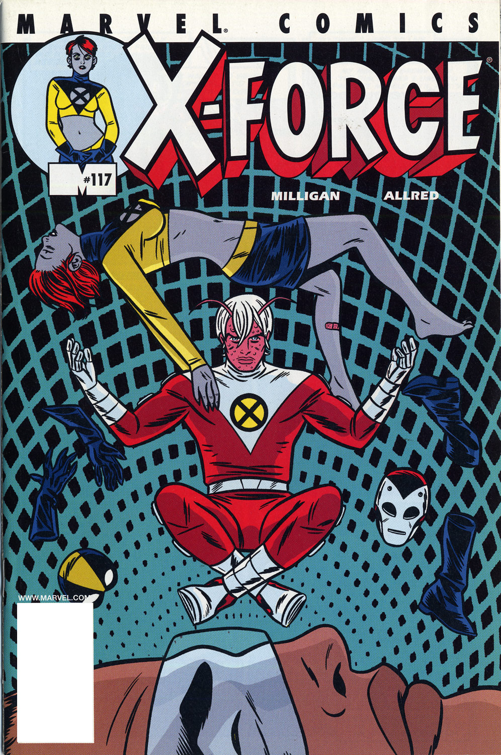 X-Force (1991) 117 Page 1