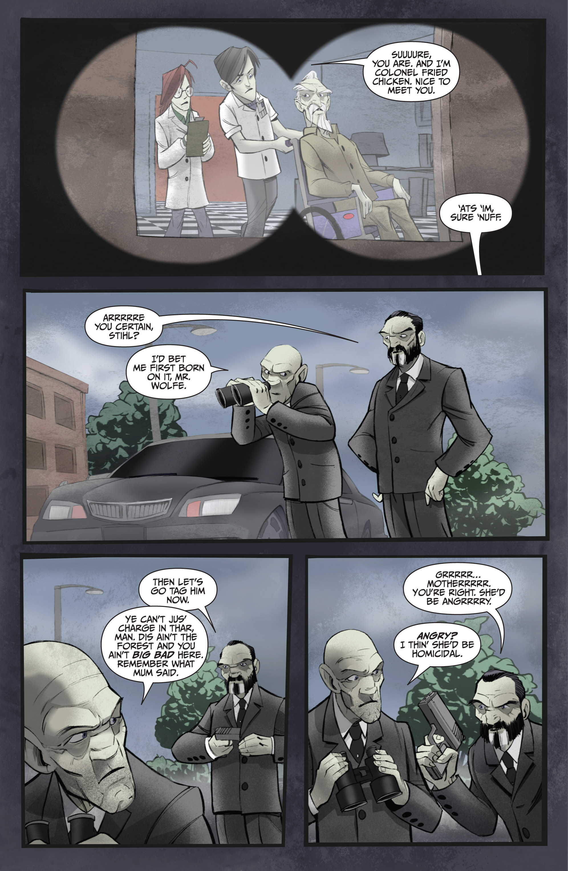 Read online Legendary Talespinners comic -  Issue #1 - 13