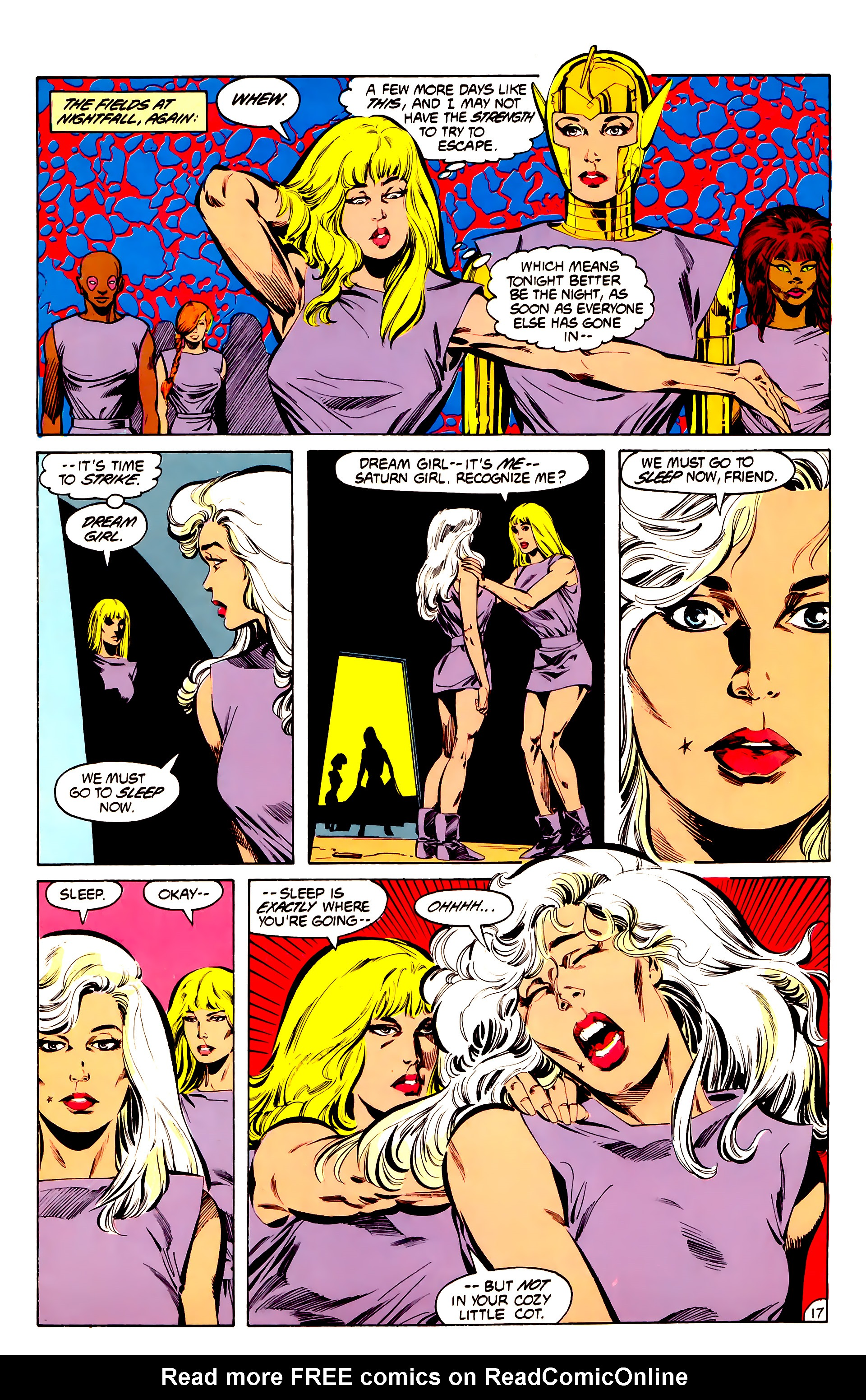 Legion of Super-Heroes (1984) 32 Page 16