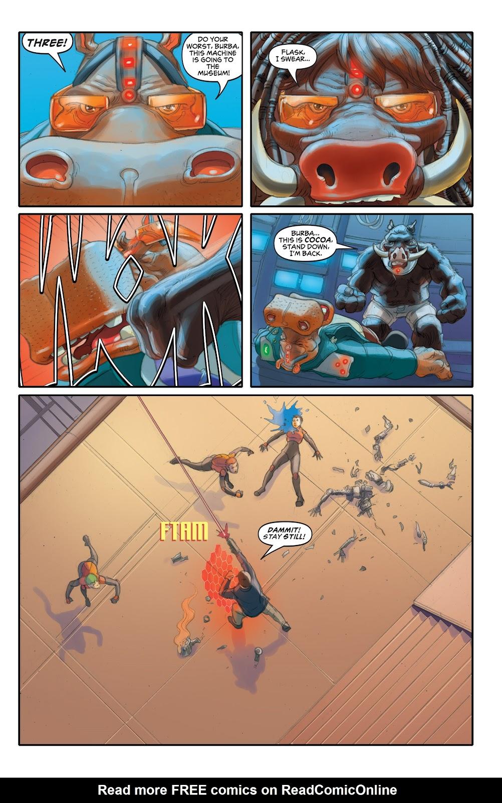Read online Elephantmen 2261 Season Two: The Pentalion Job comic -  Issue # TPB - 76