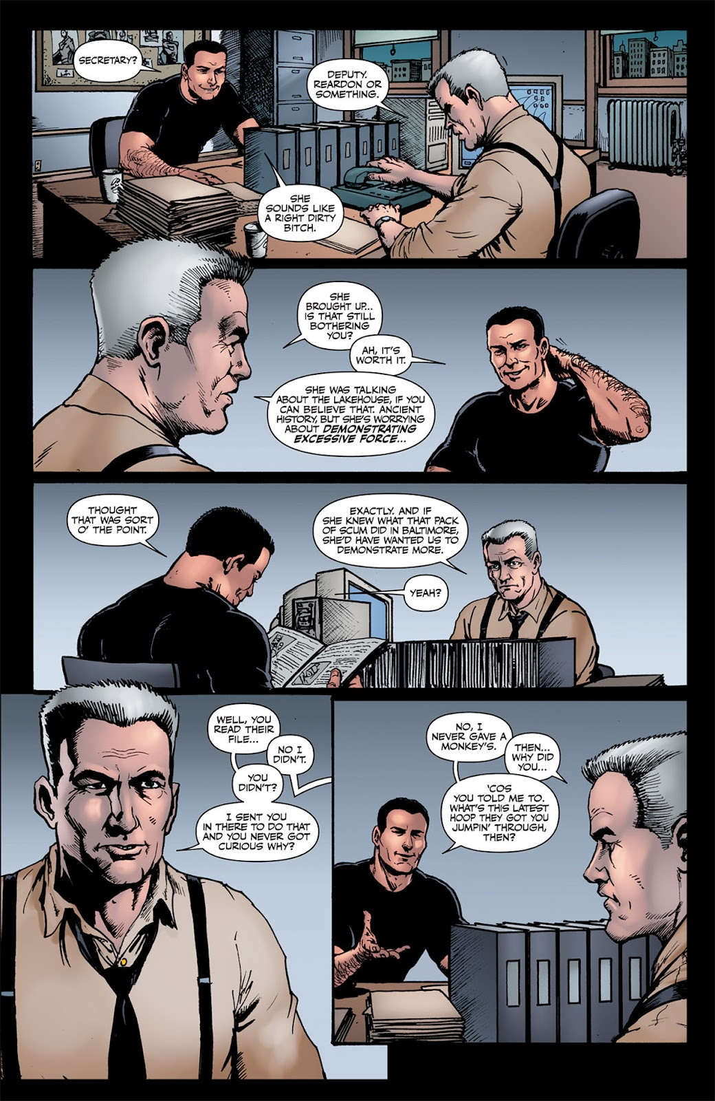 Read online The Boys: Butcher, Baker, Candlestickmaker comic -  Issue #6 - 7