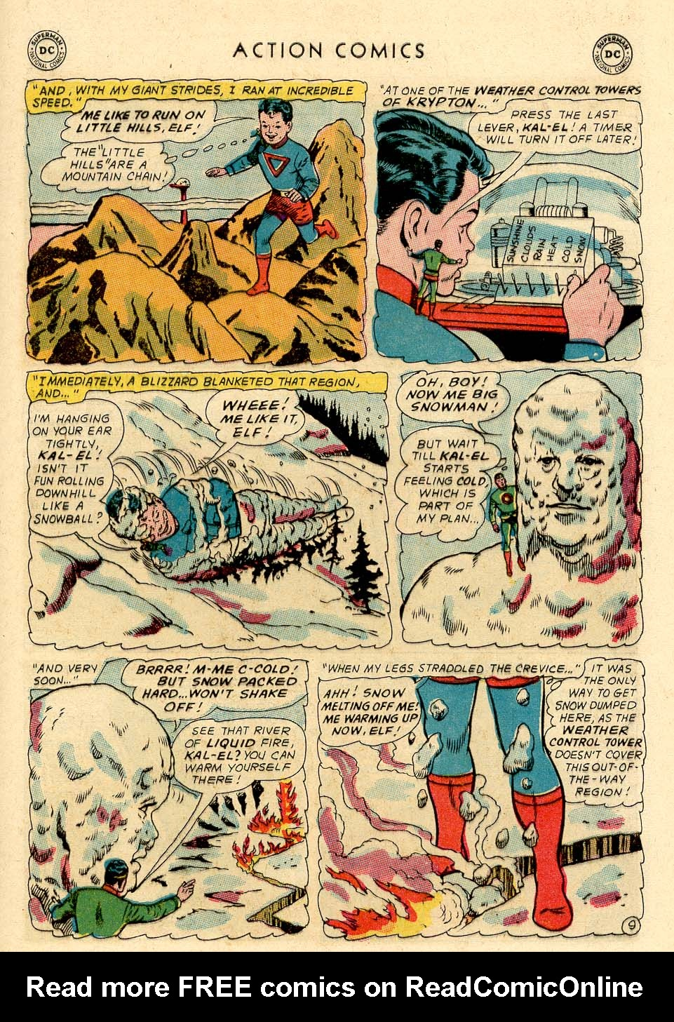Read online Action Comics (1938) comic -  Issue #325 - 13