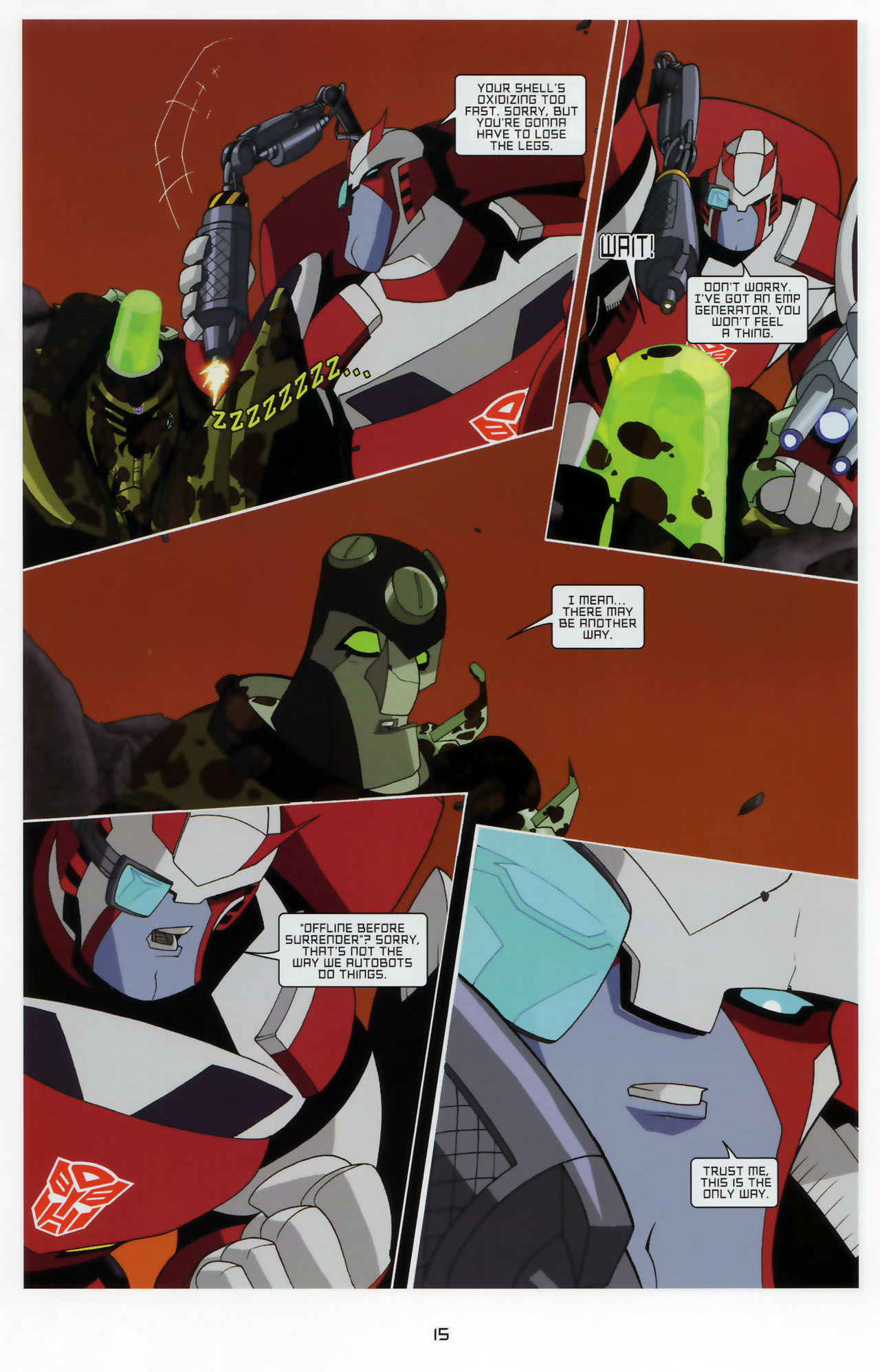Read online Transformers Animated: The Arrival comic -  Issue #3 - 17