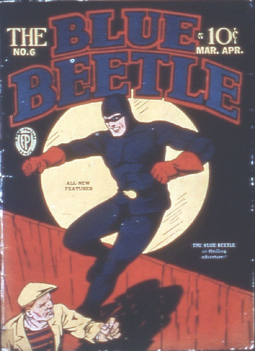 The Blue Beetle 6 Page 1