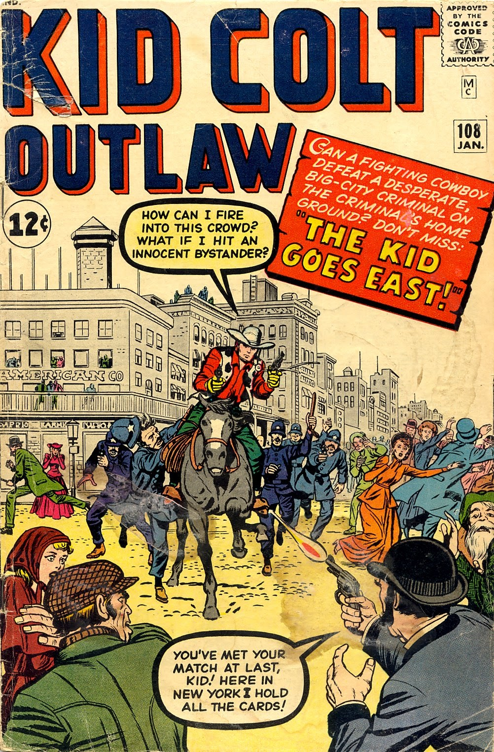 Kid Colt Outlaw issue 108 - Page 1