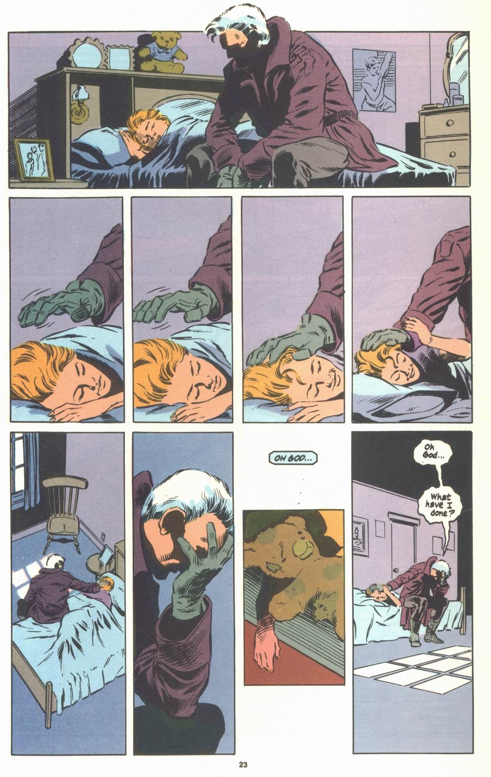 Read online Justice (1986) comic -  Issue #23 - 25