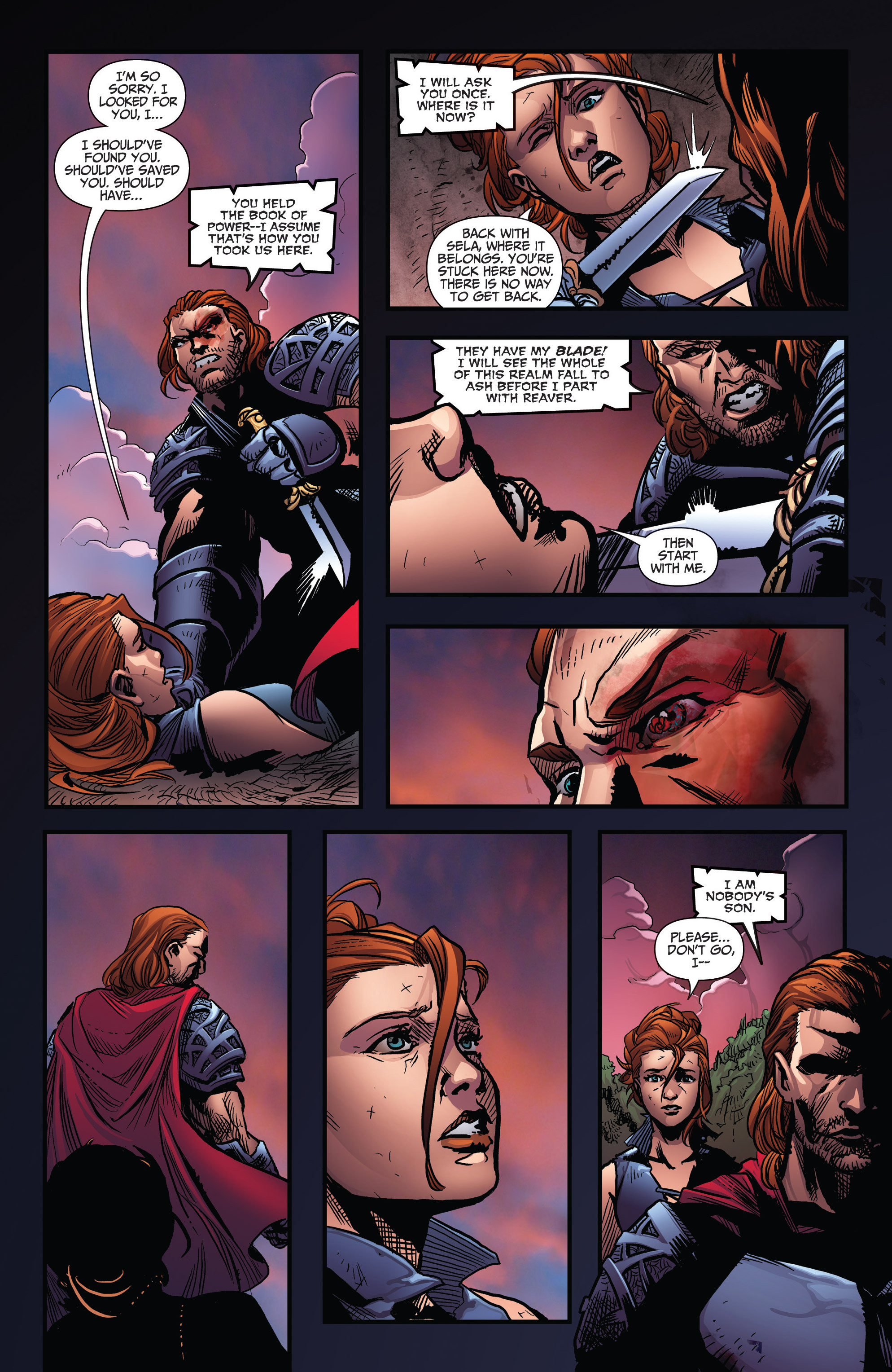 Read online Grimm Fairy Tales: Arcane Acre comic -  Issue # TPB 3 - 116