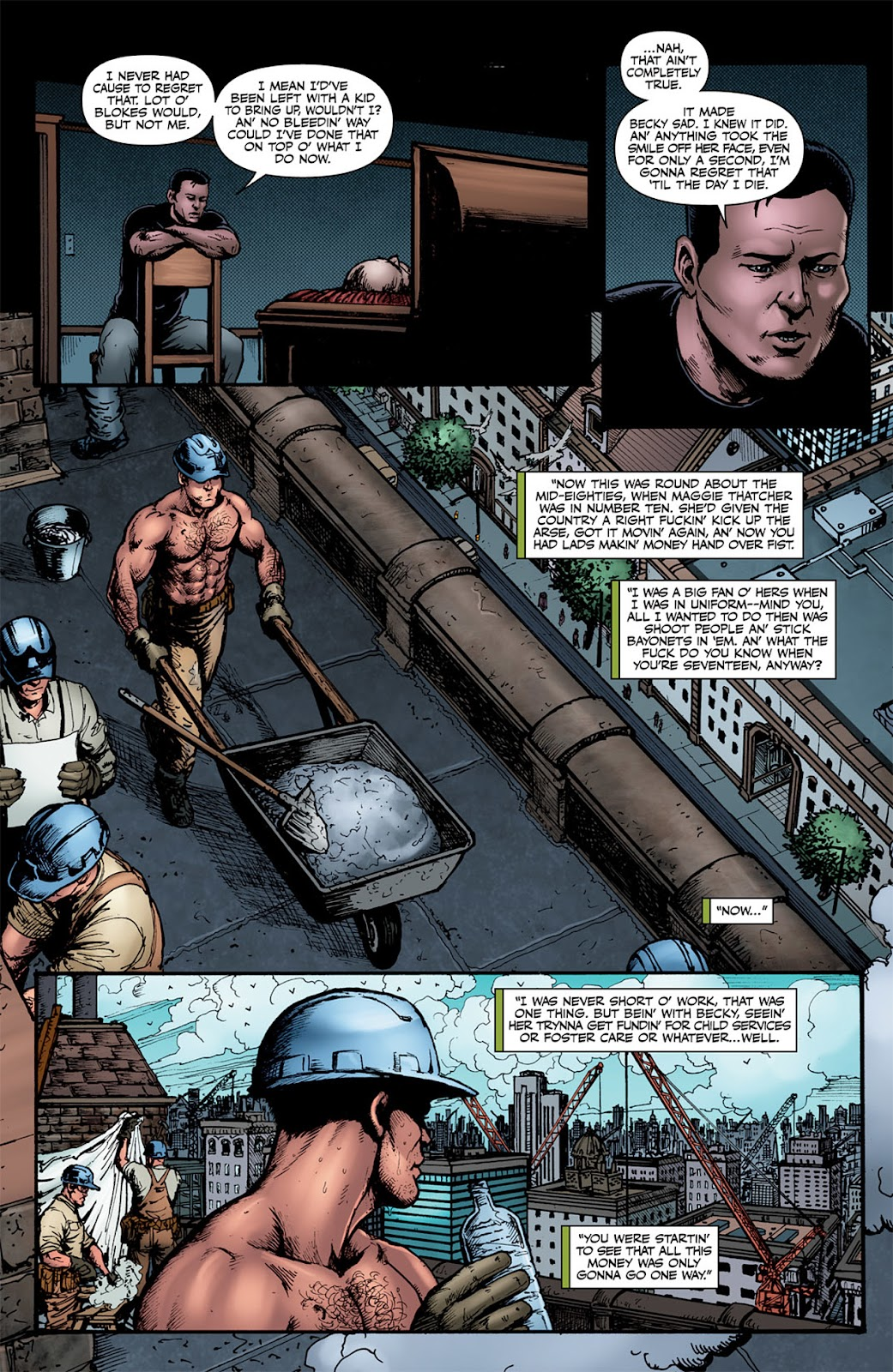 Read online The Boys: Butcher, Baker, Candlestickmaker comic -  Issue #4 - 8