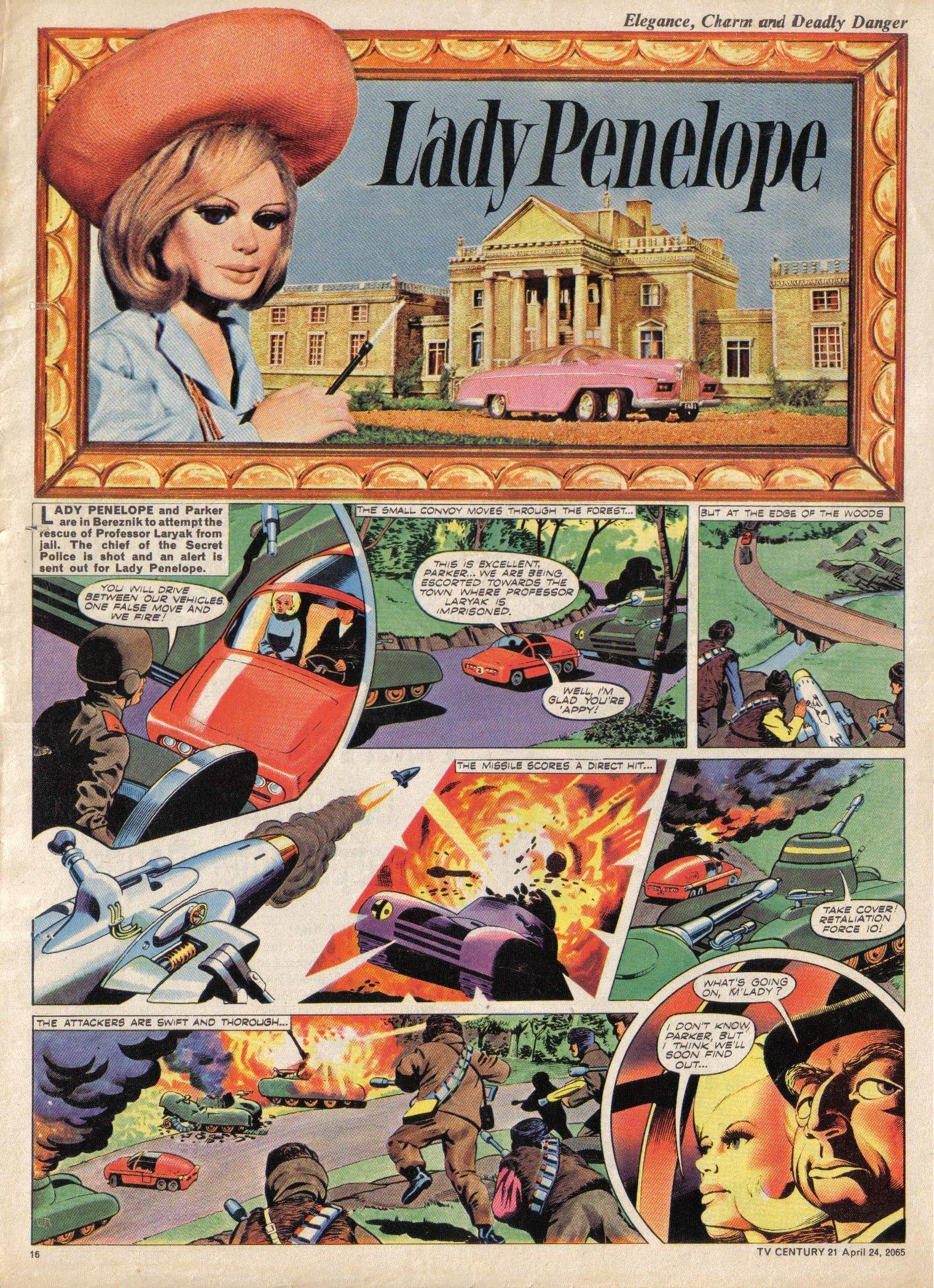 Read online TV Century 21 (TV 21) comic -  Issue #14 - 15