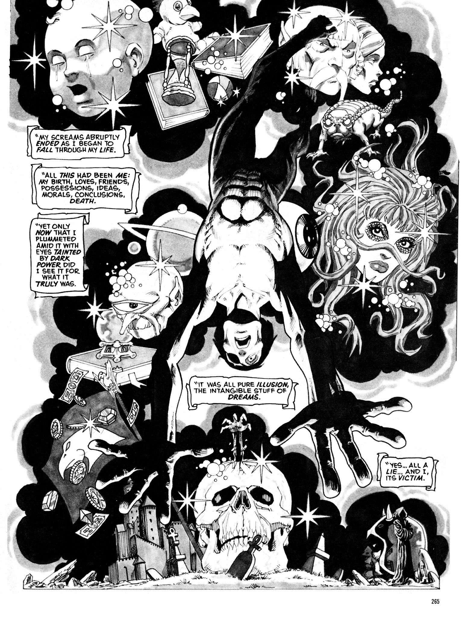 Read online Eerie Archives comic -  Issue # TPB 16 - 266