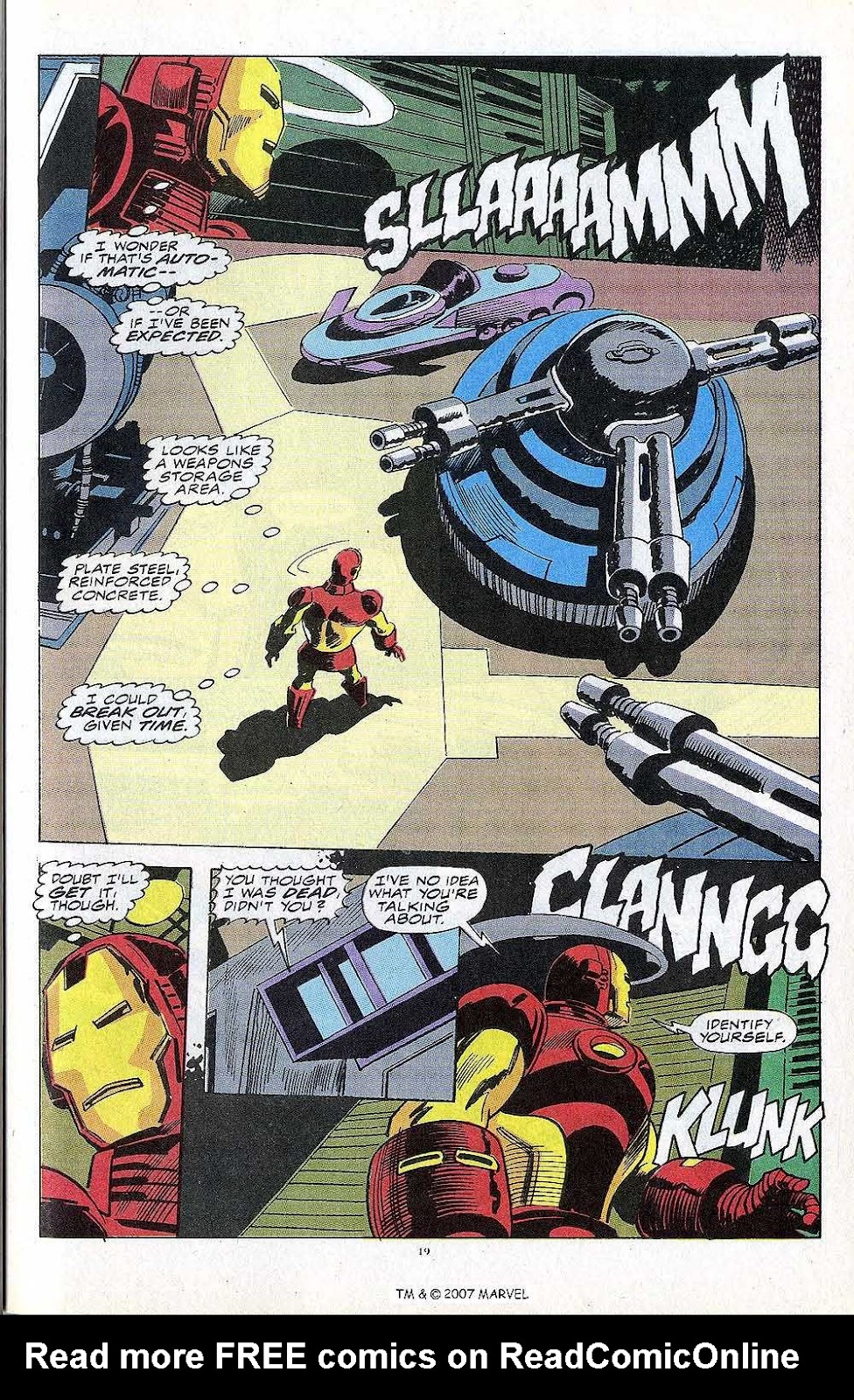 Iron Man Annual issue 13 - Page 21