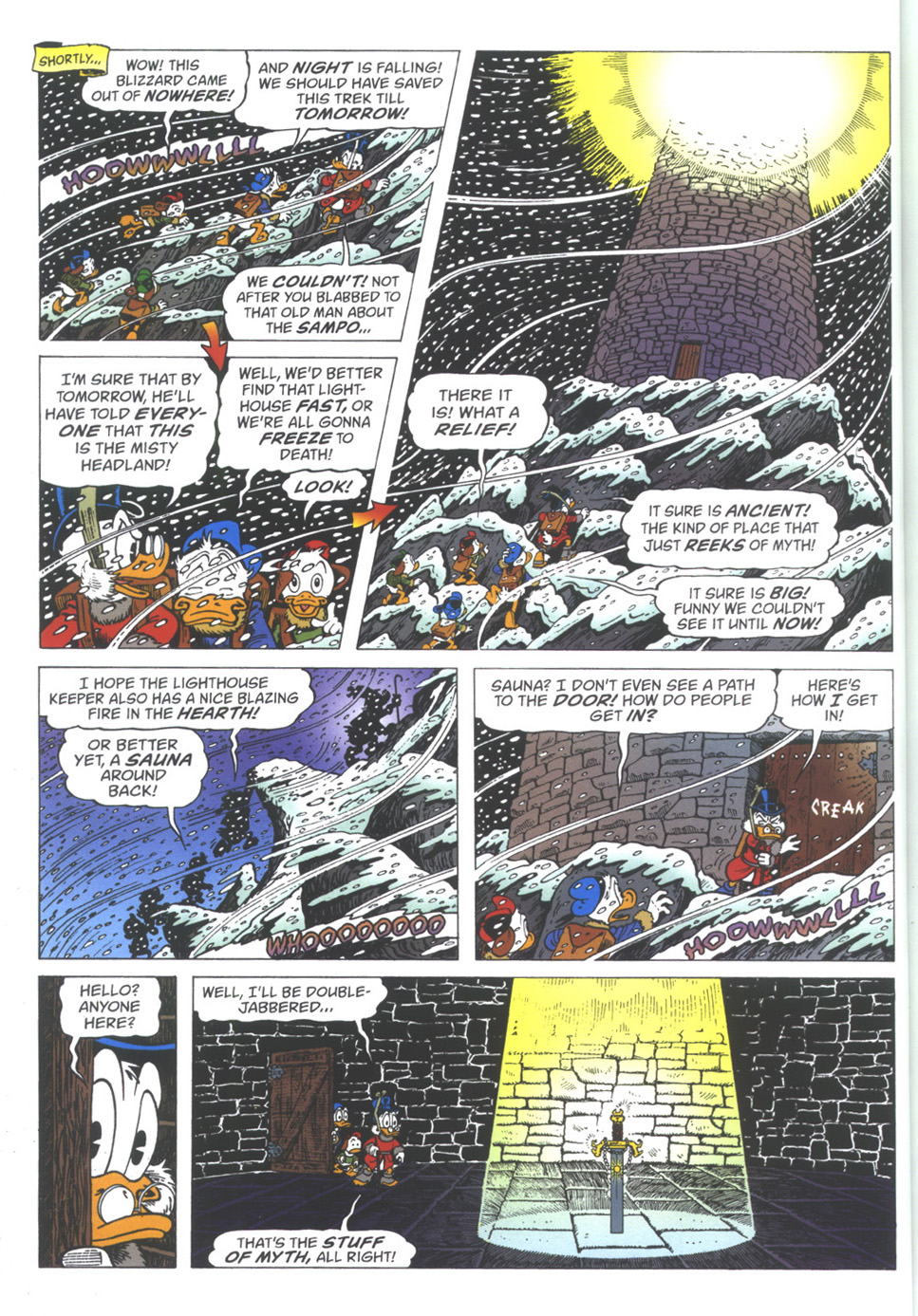 Read online Uncle Scrooge (1953) comic -  Issue #334 - 10