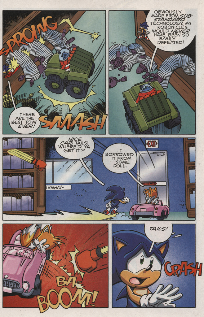 Read online Sonic X comic -  Issue #21 - 29