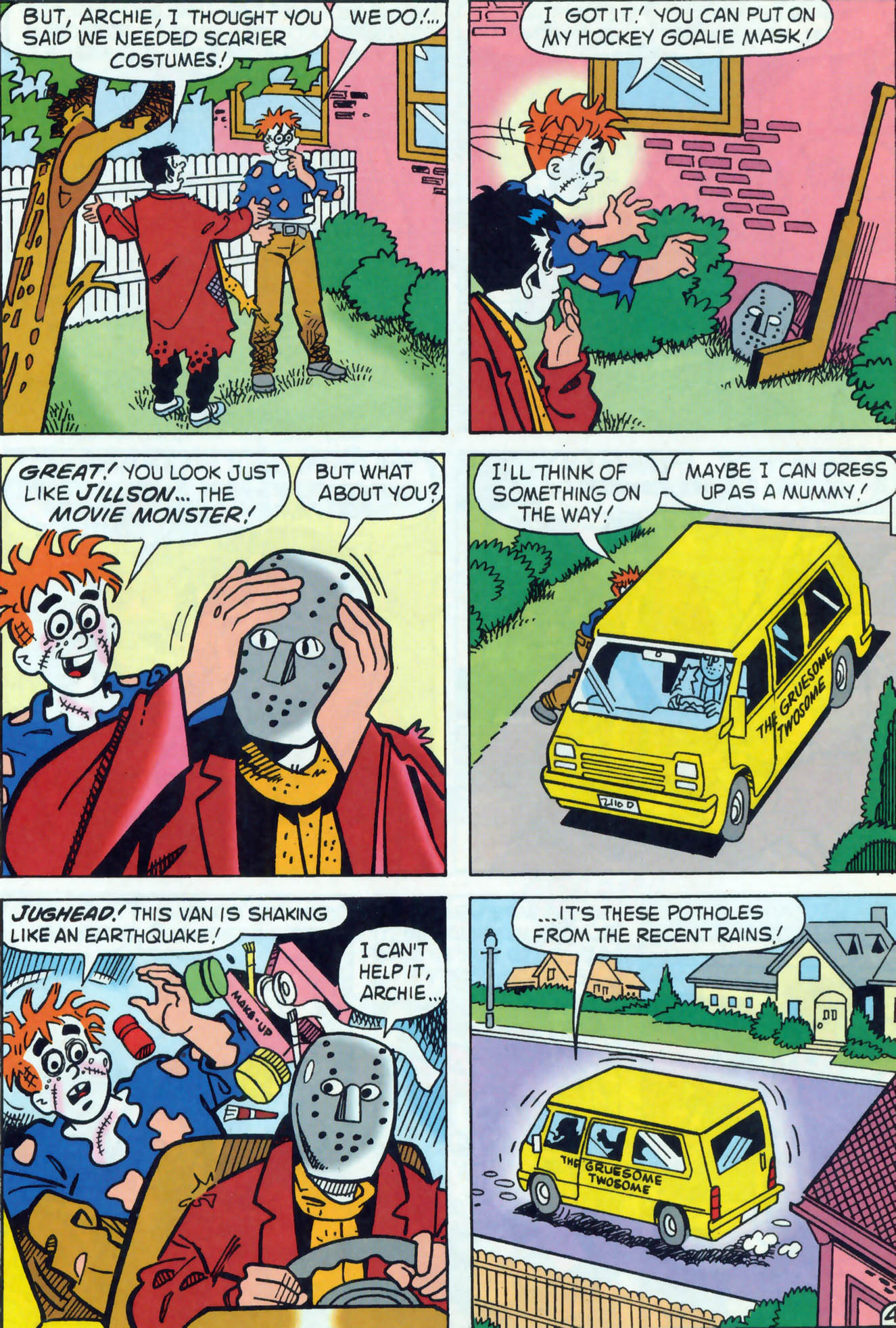 Read online Archie (1960) comic -  Issue #465 - 5