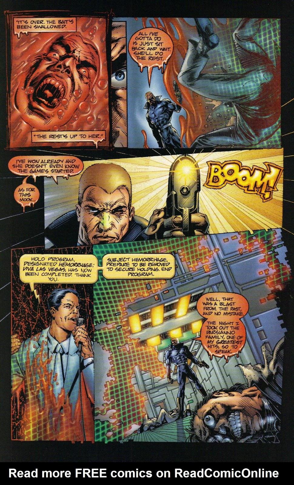 Vampirella vs Hemorrhage issue 1 - Page 22