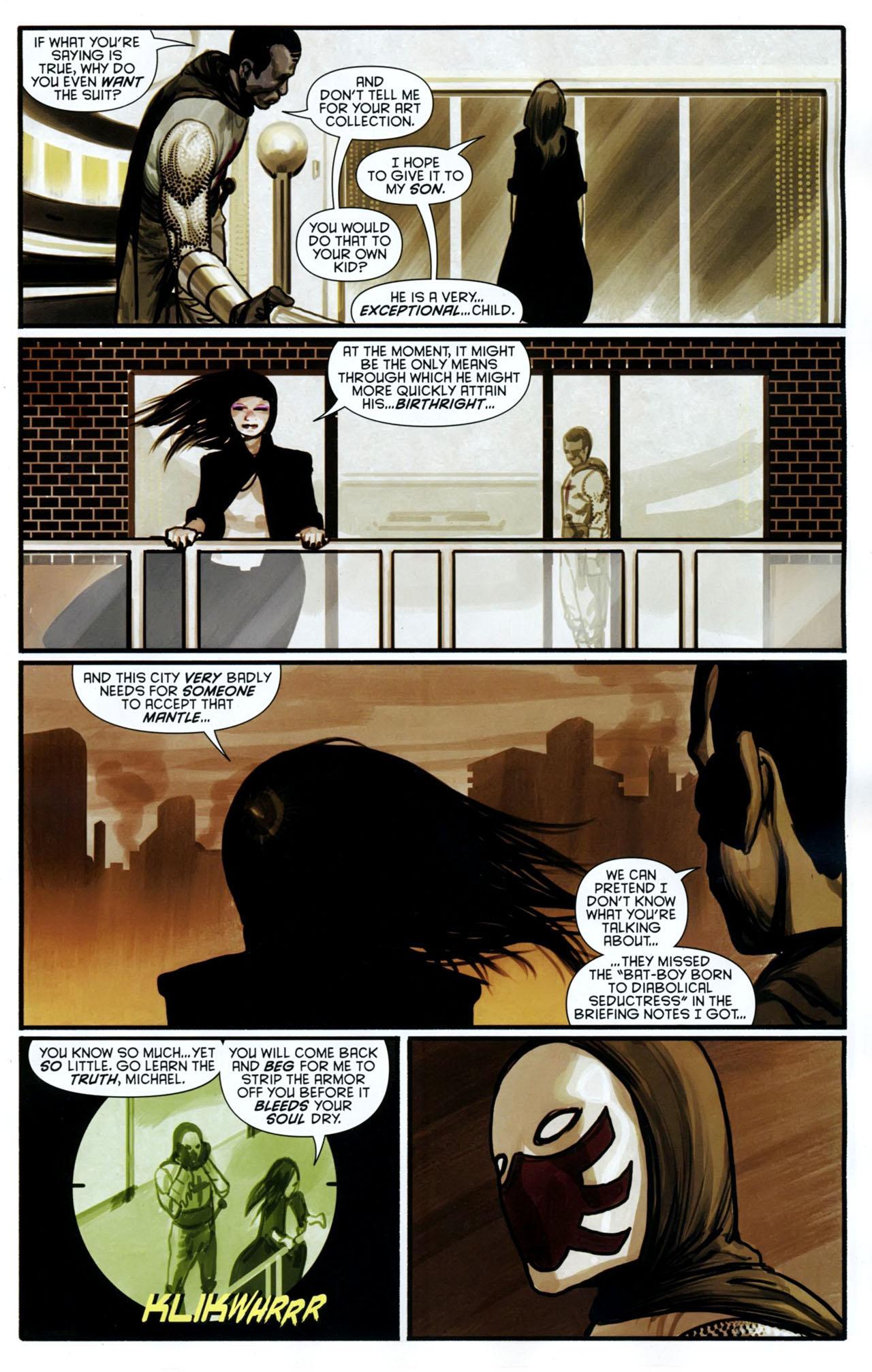 Read online Azrael: Death's Dark Knight comic -  Issue #2 - 16